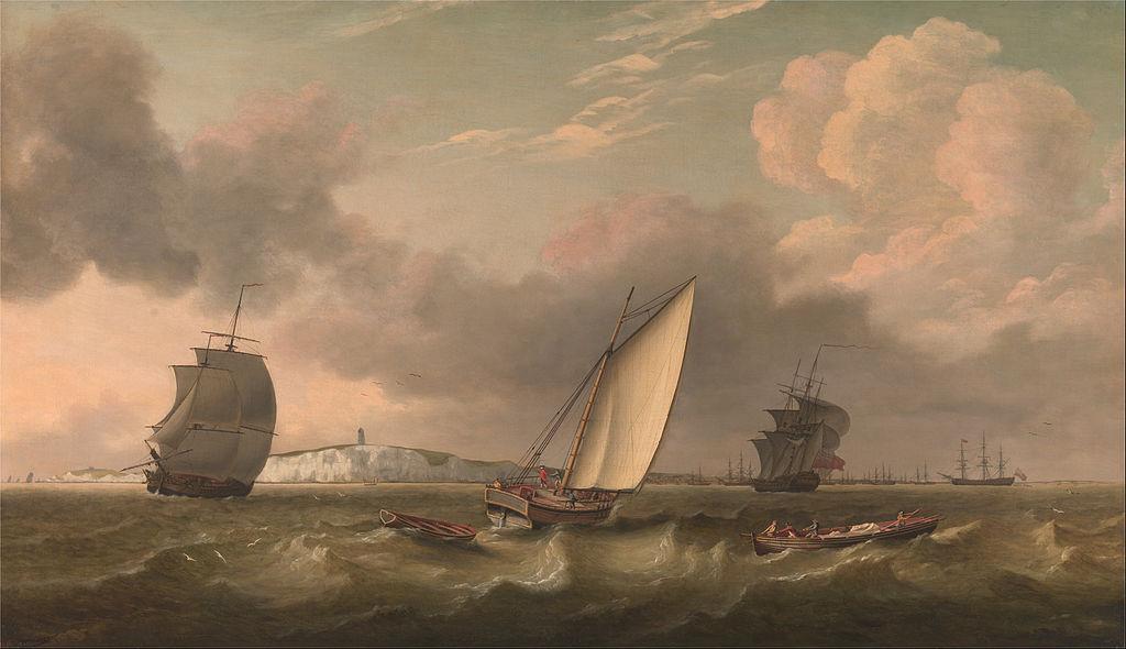 Thomas Luny painting