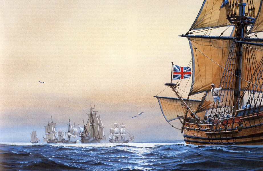 The Spanish and French invasion of South Carolina in 1706.