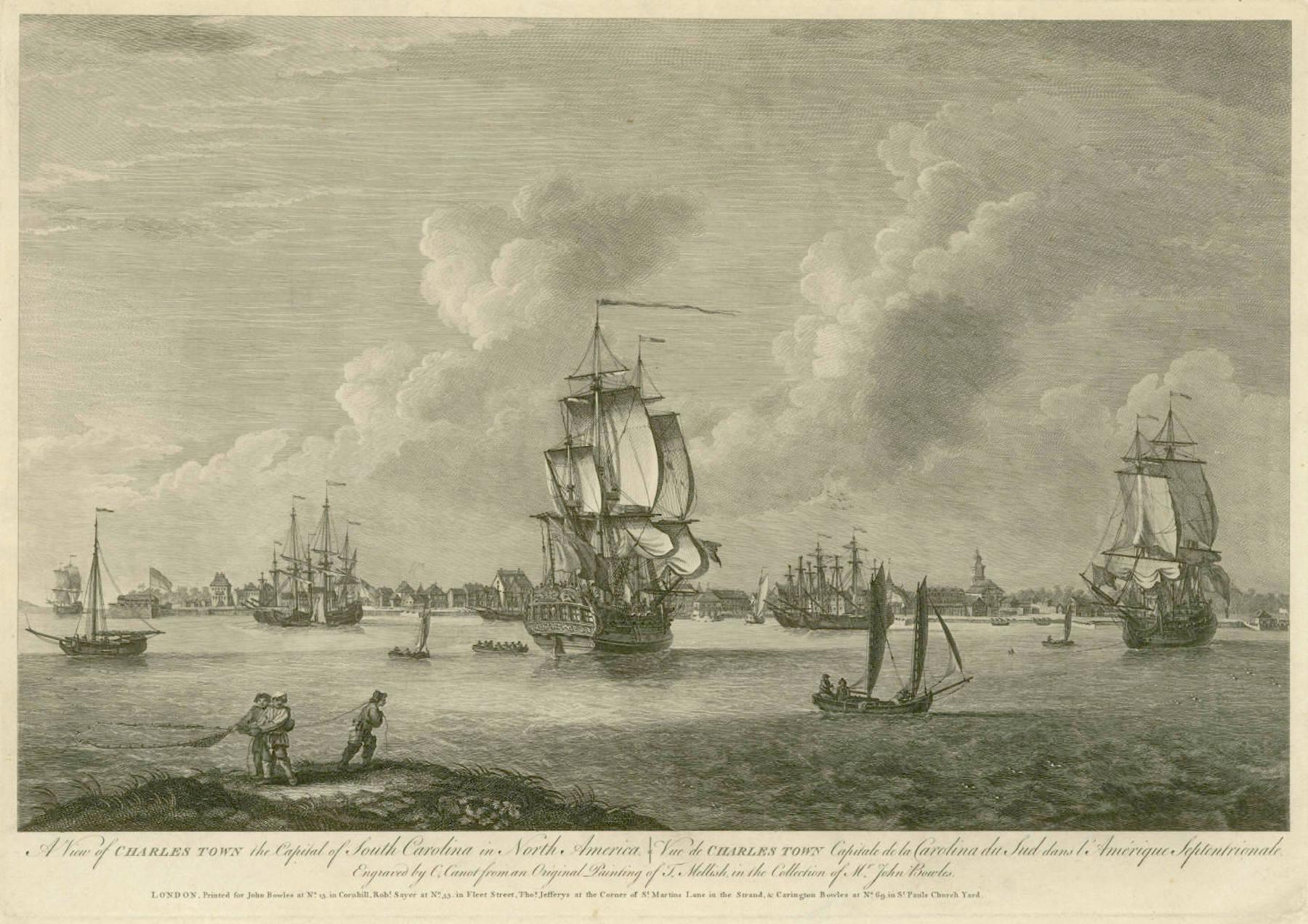Captain Thomas Hayward's Poetic Description of 1769 Charles Town