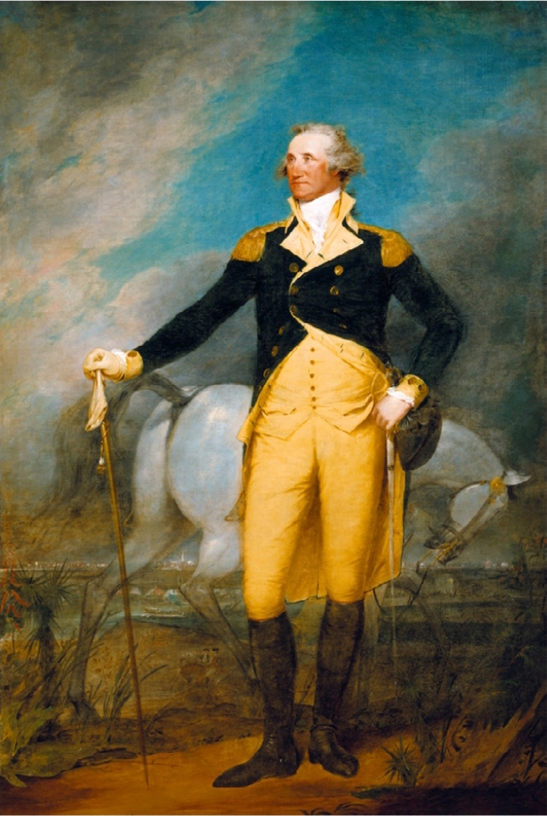 Washington at the City of Charleston, 1792, by John Trumbull