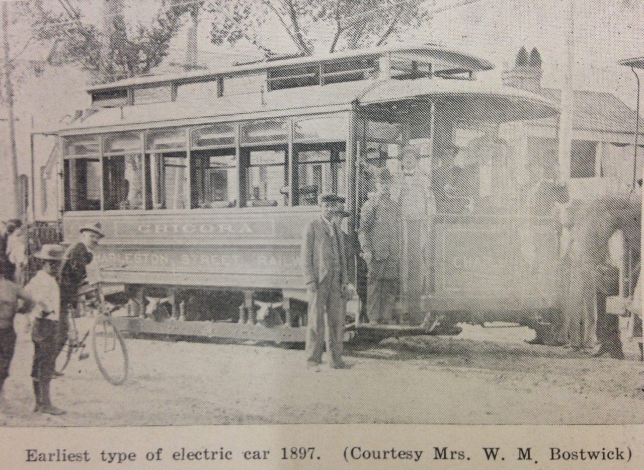 The Rise of Streetcars and Trolleys in Charleston