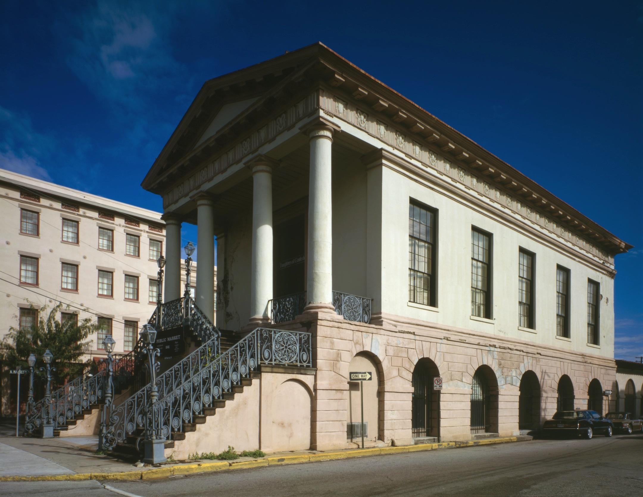 The Public Life of Charleston's Market Hall