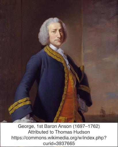 George, 1st Baron Anson