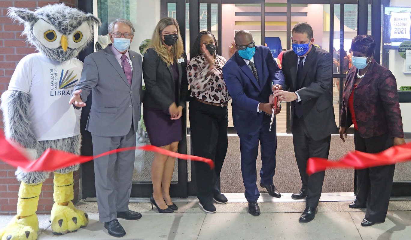 Hurd/St. Andrews Library reopens after interior renovation project