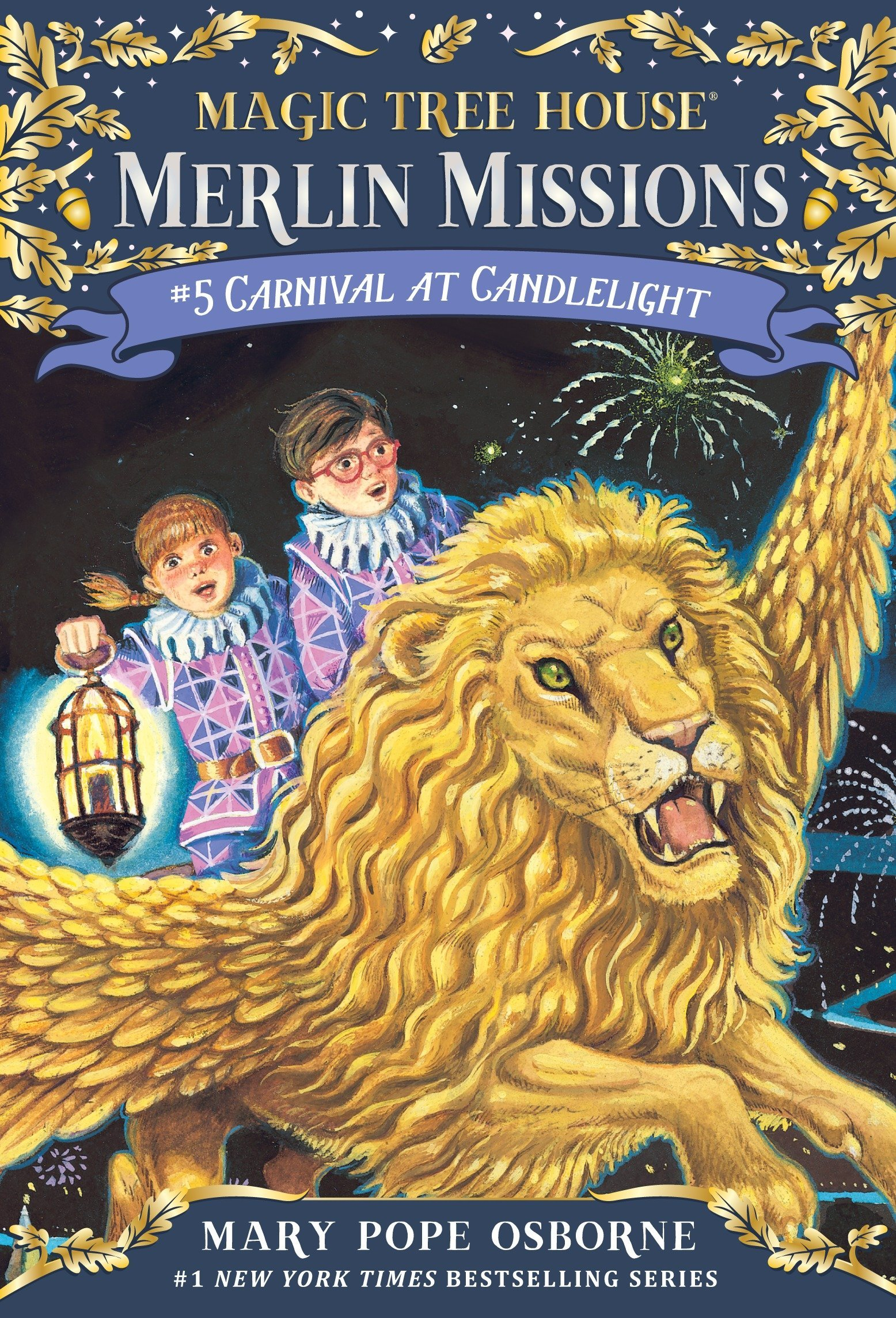 """Magic Tree House Club """"Merlin Missions"""": Carnival at Candlelight"""
