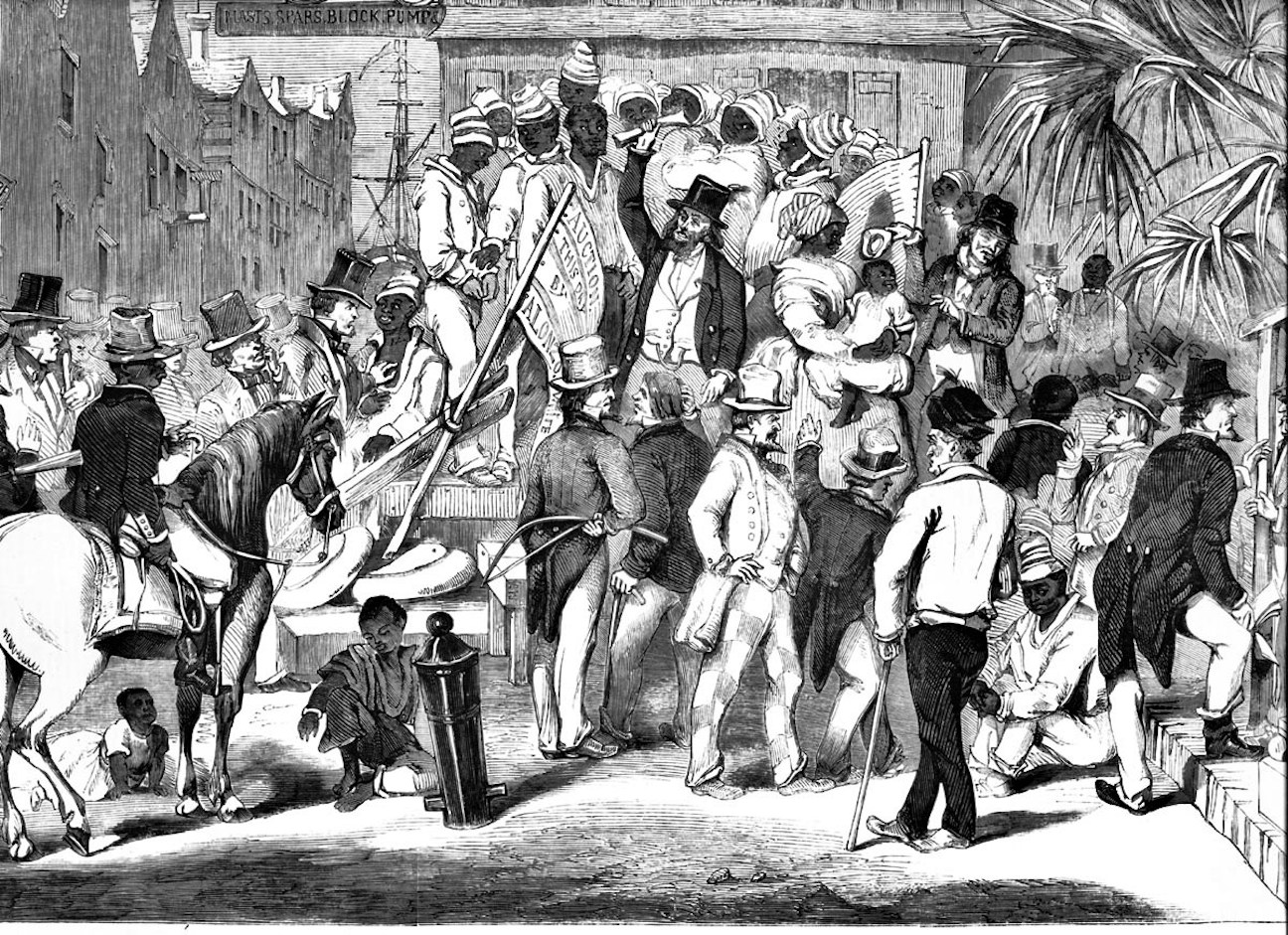 Street Auctions and Slave Marts in Antebellum Charleston