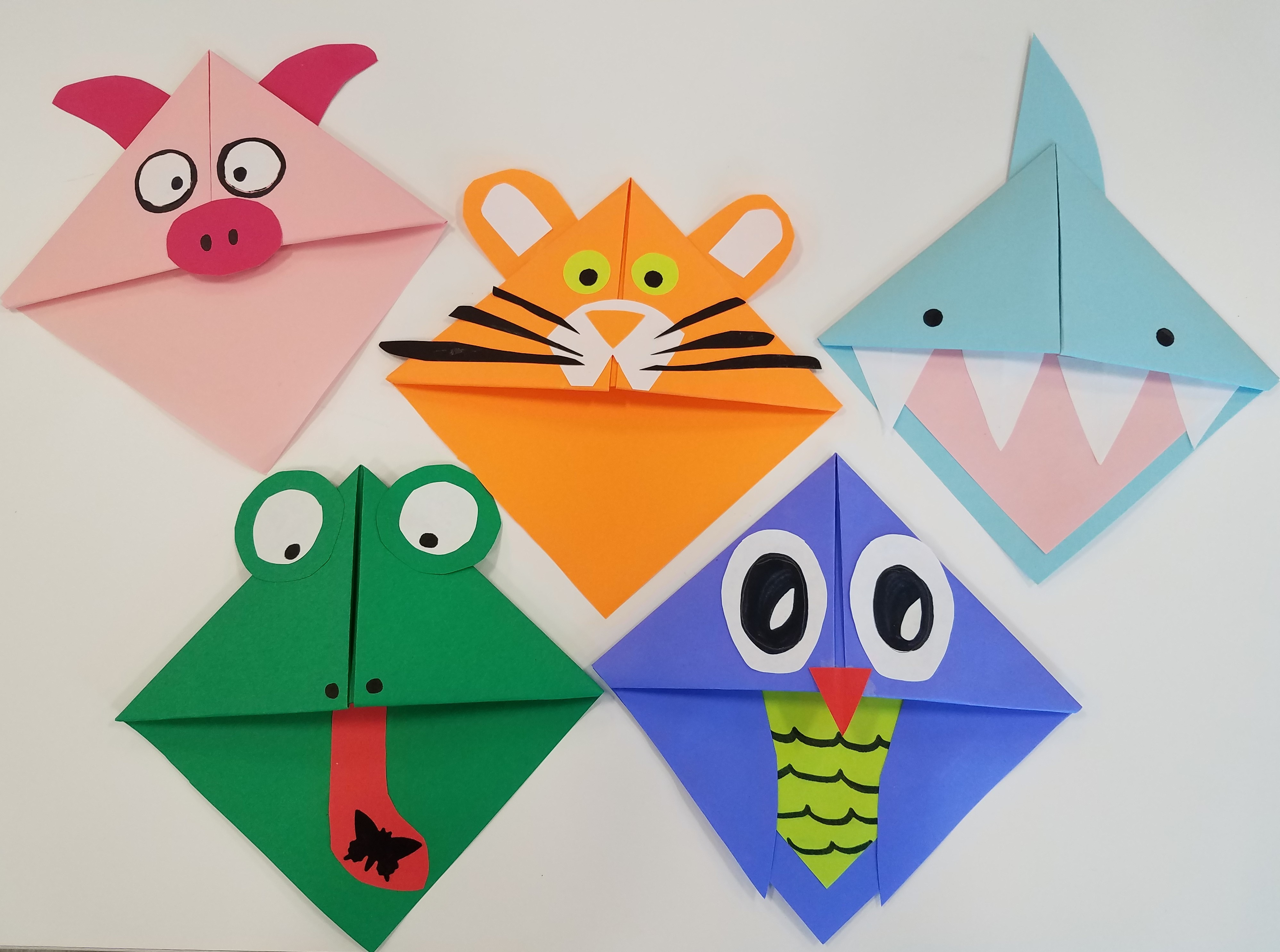 Bookmark It! Origami Animal Bookmarks