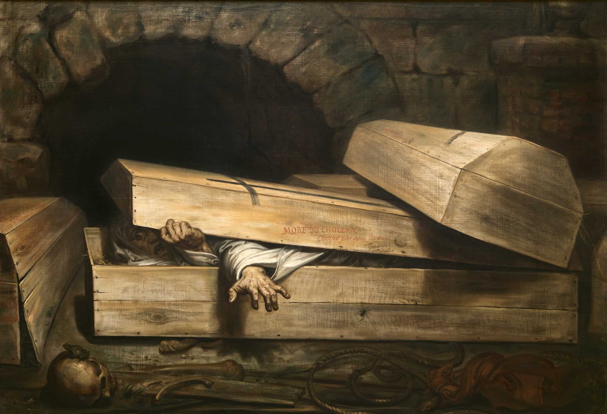 "Anton Wiertz's ""The Premature Burial"" (1854)"