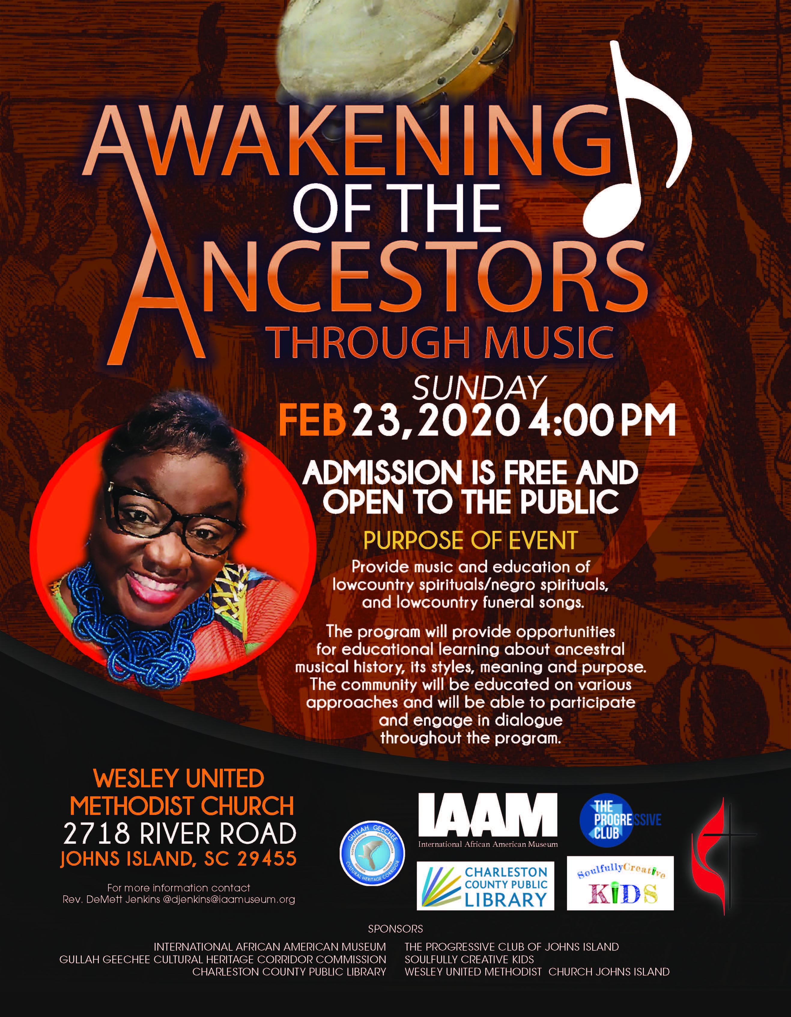 Awakening of the Ancestors Through Music