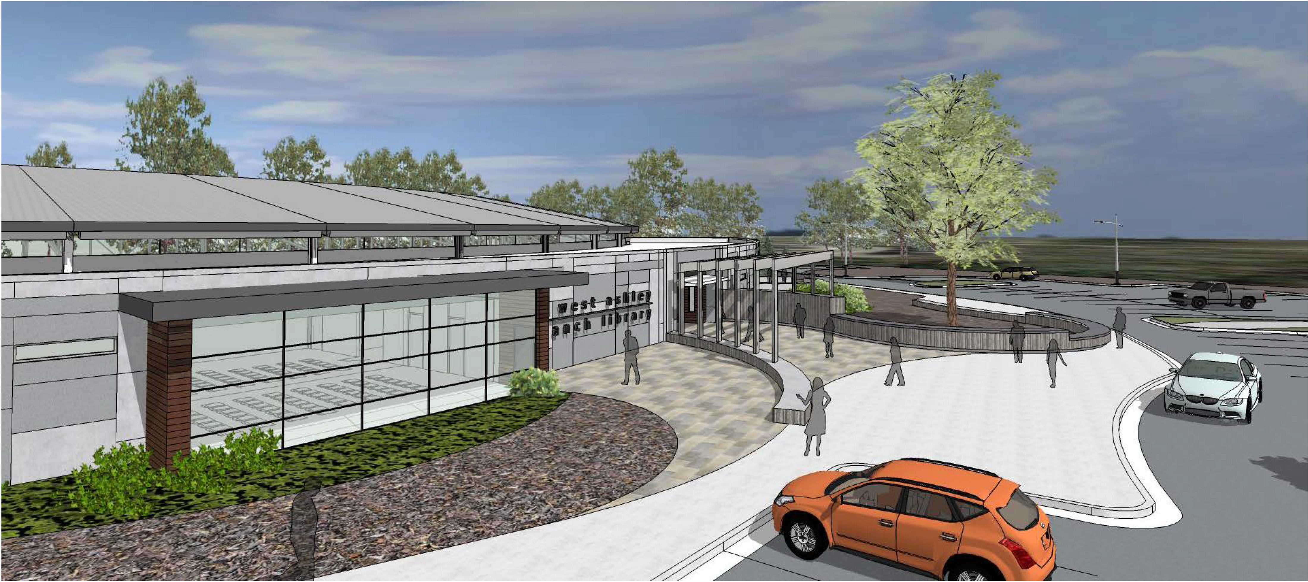 Bees Ferry West Ashley rendering