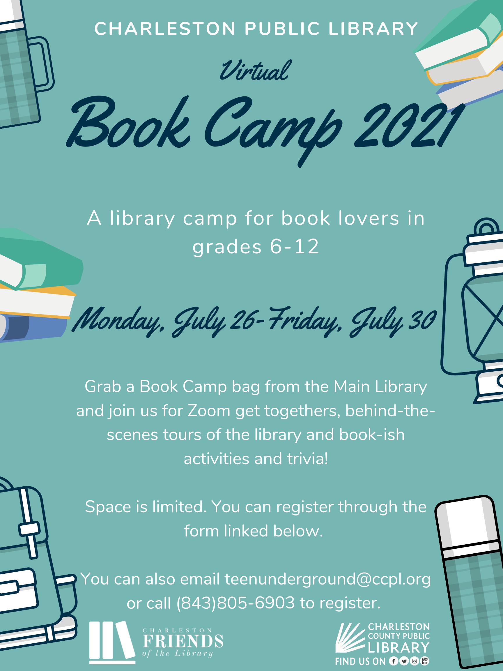 Book Camp (grades 6-12)