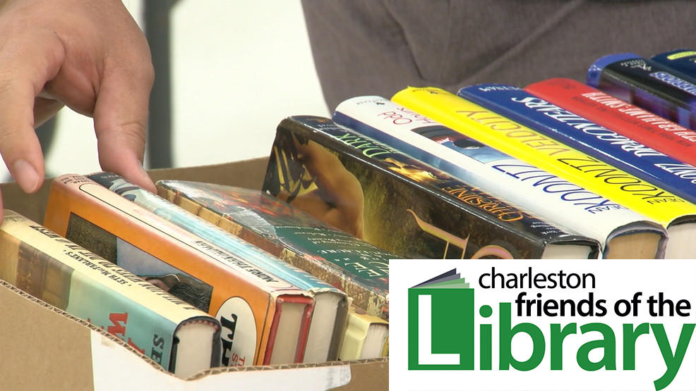 Support Your Local Library at Pop-up Book Sales