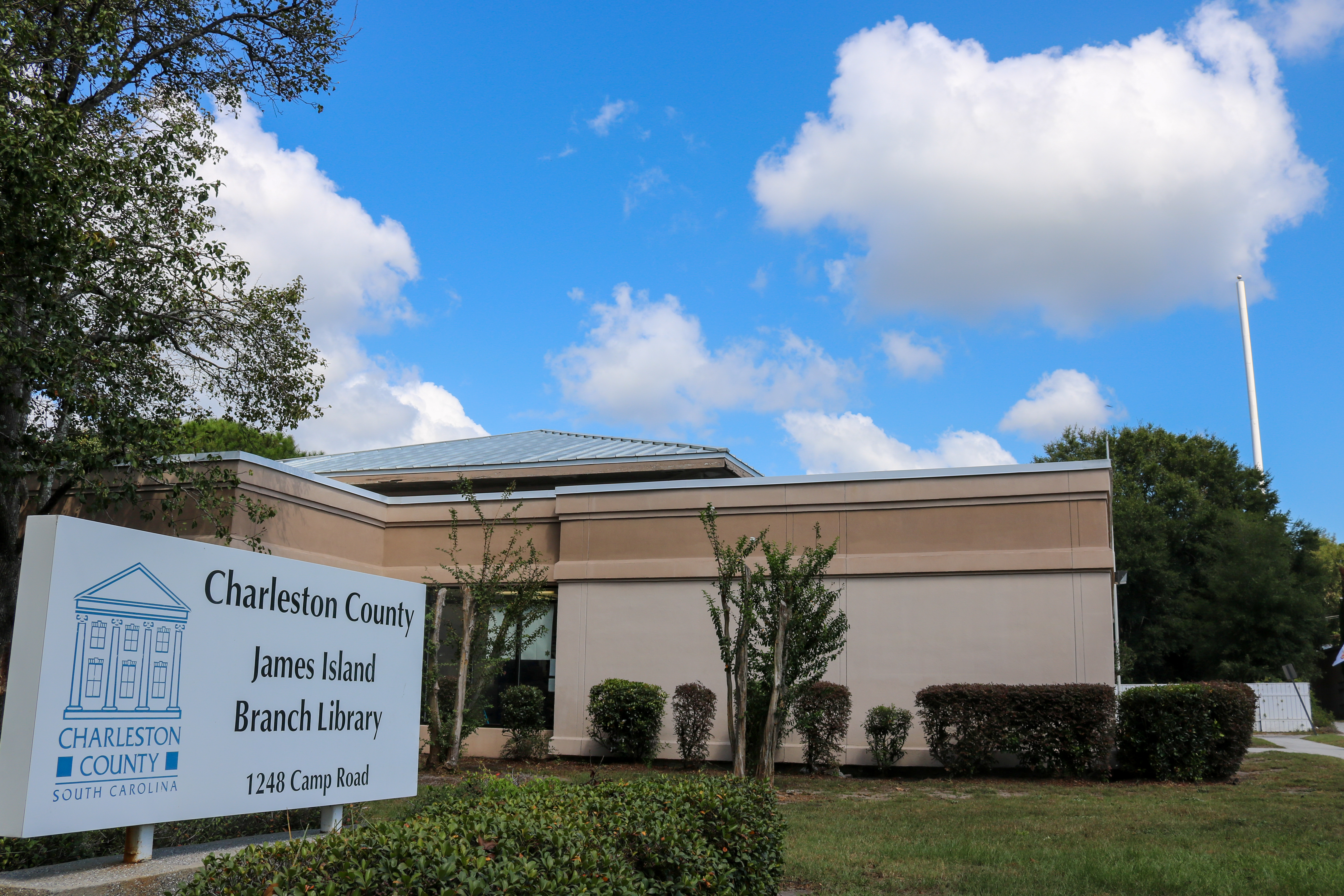 James Island Library - final day Camp Road location