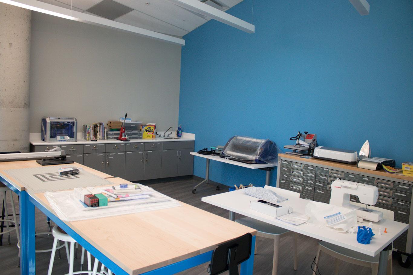 Makerspace - Baxter-Patrick James Island