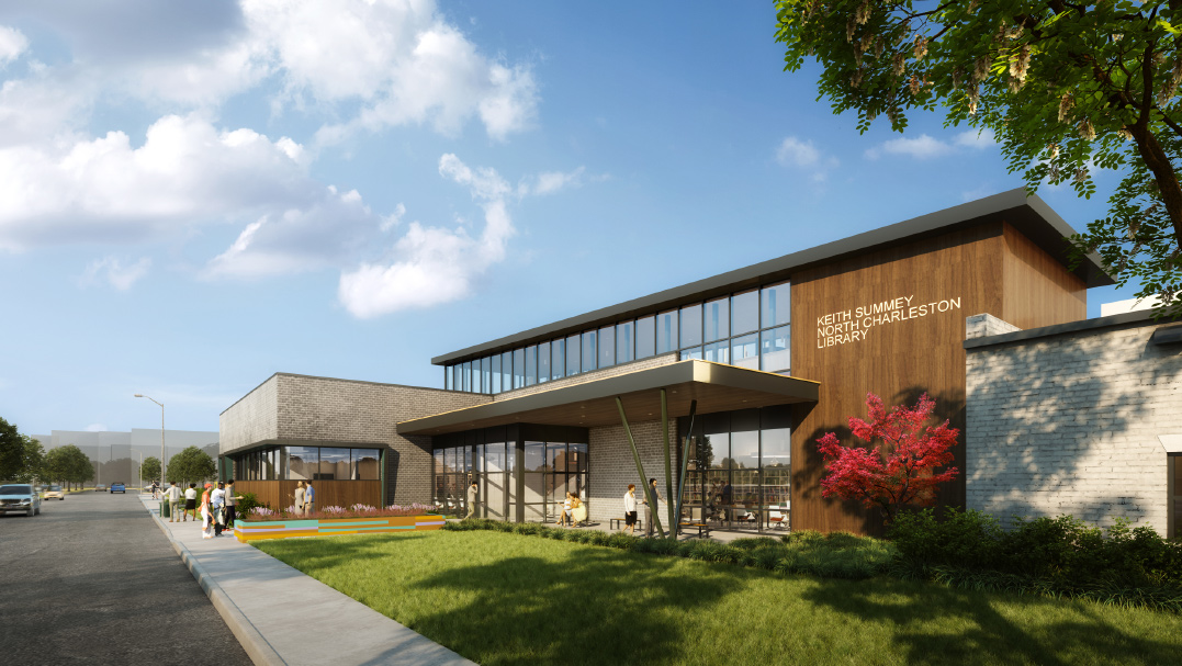 CCPL, Charleston County Government provide update to community about new Keith Summey North Charleston Library construction