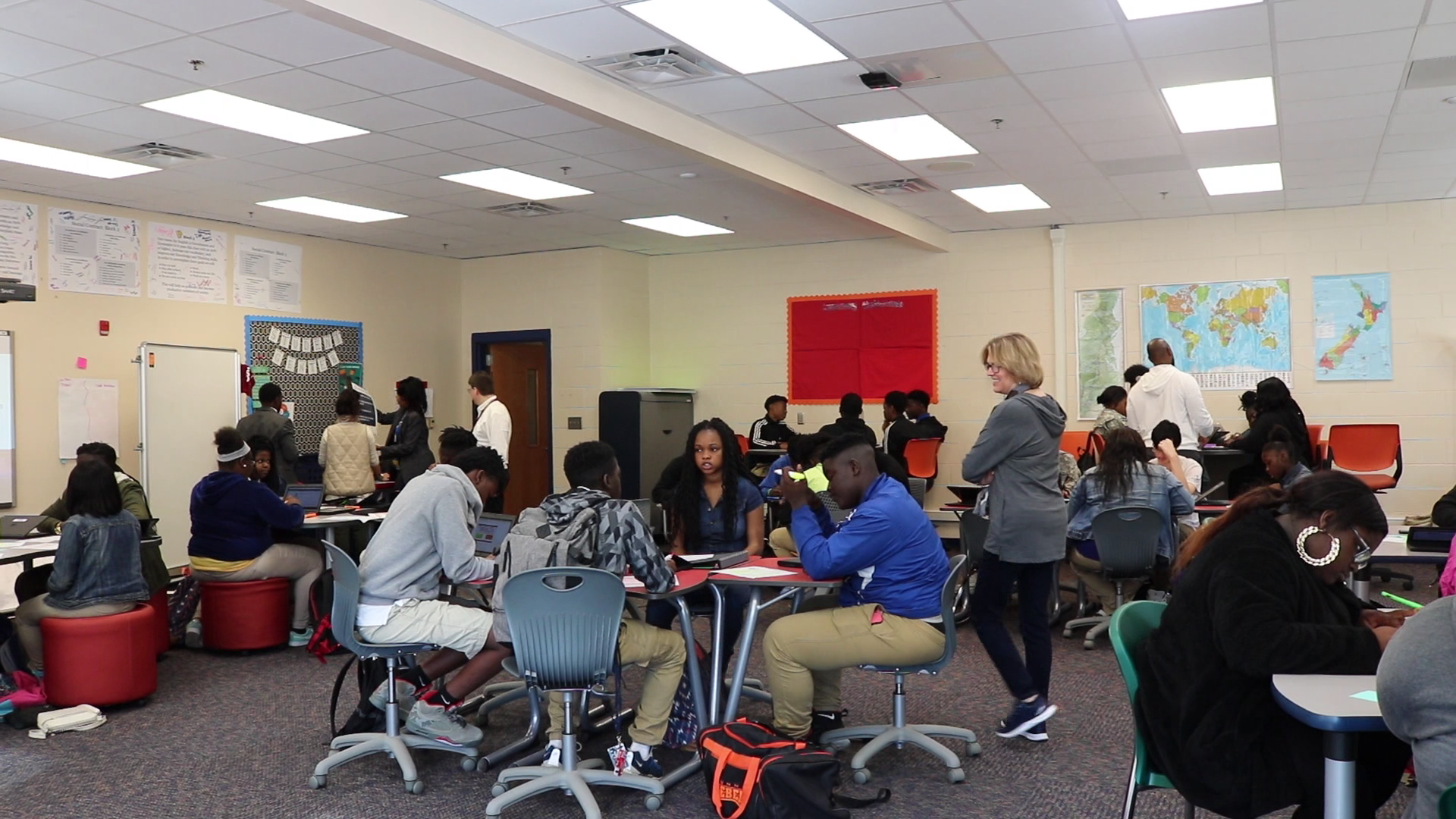 CCPL partners with Burke High School students on special project highlighting suppression of civil rights