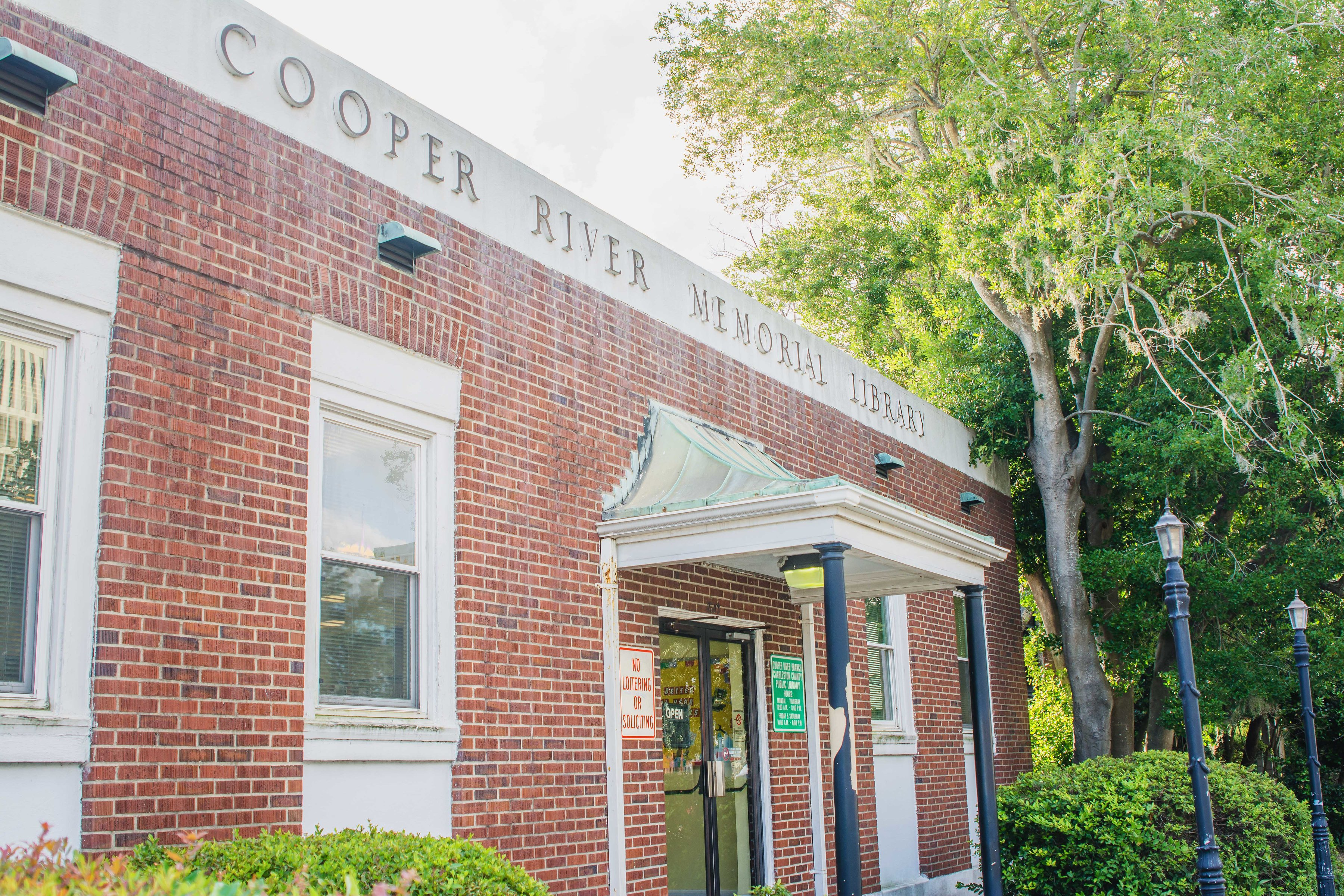 CCPL to close Cooper River Memorial Library on Tuesday, April 27