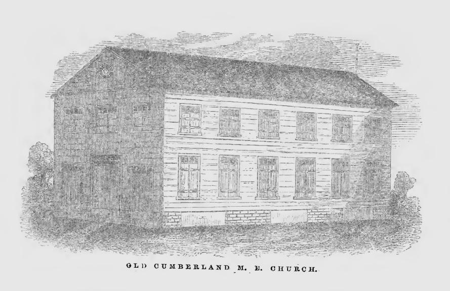 Cumberland Street Methodist Church in Charleston, ca. 1790