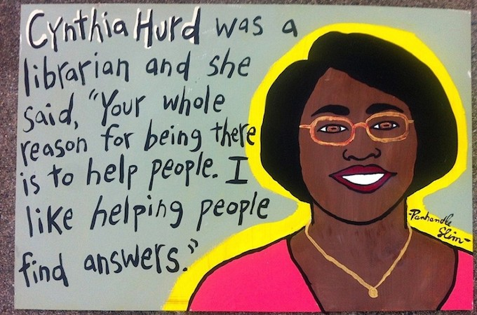 CCPL launches #ThisIsForCynthia campaign to honor former librarian Cynthia Graham Hurd