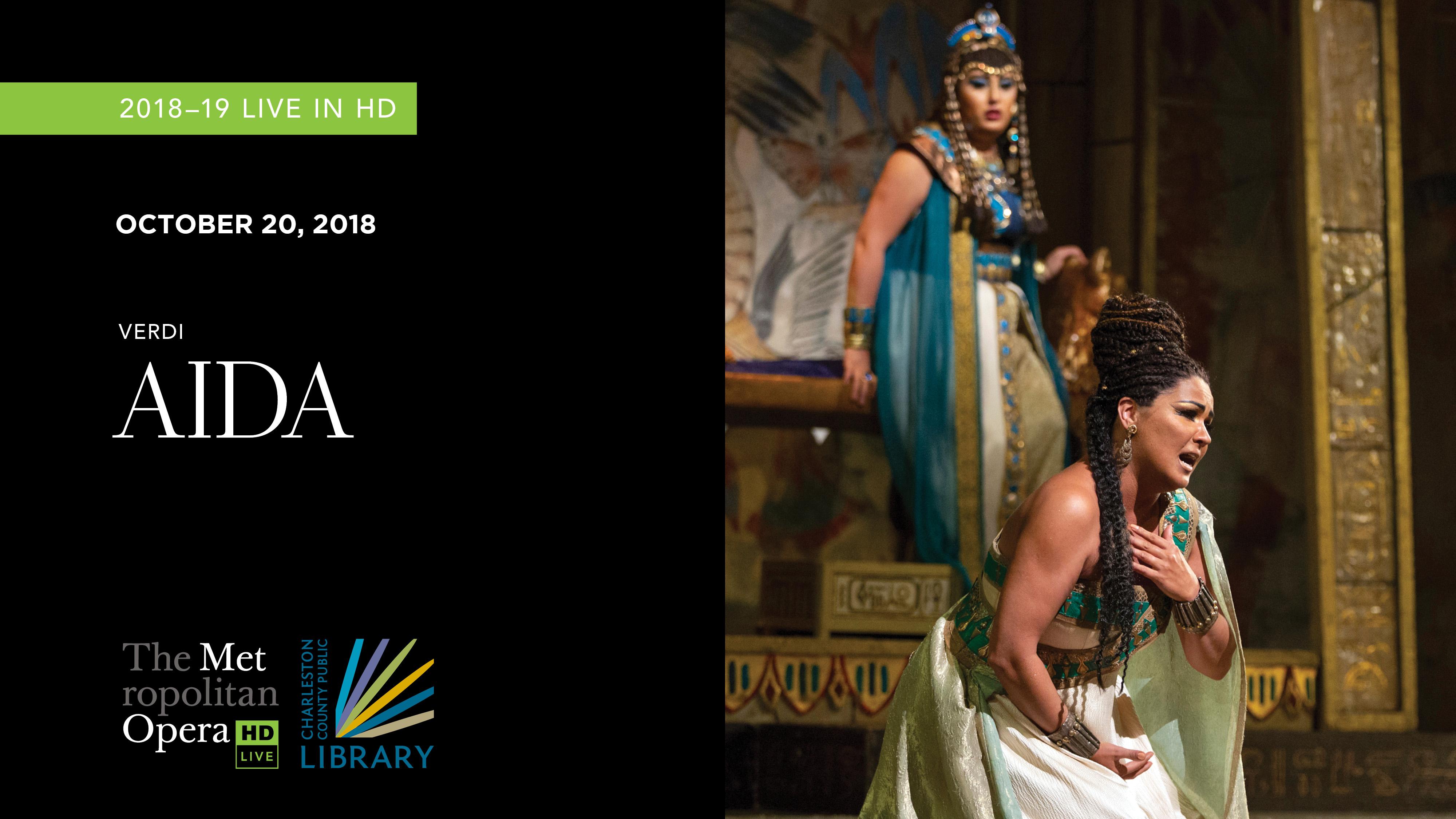 MET Opera Aida 2018