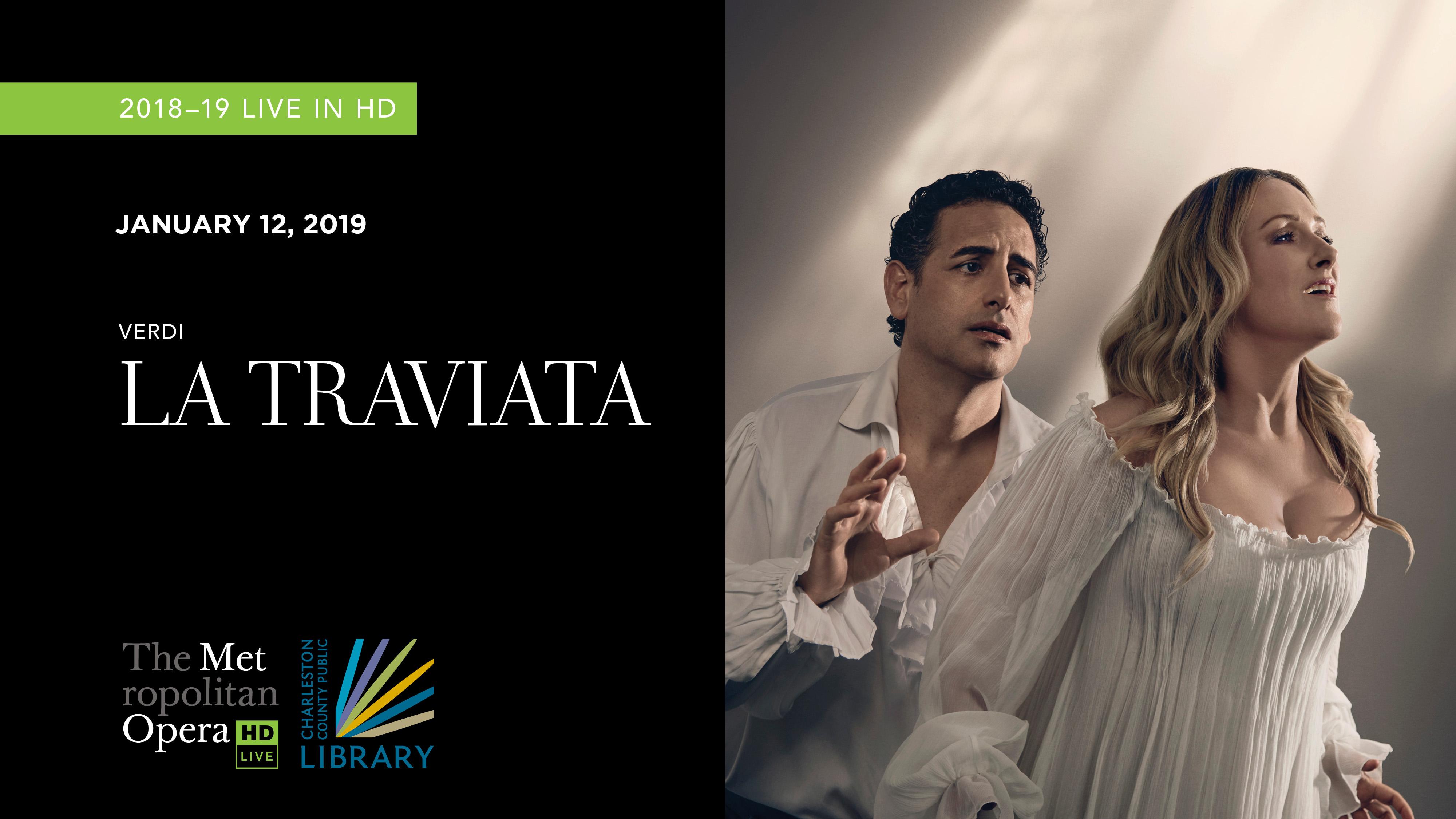 """MET Opera """"La Traviata"""" 2018"""