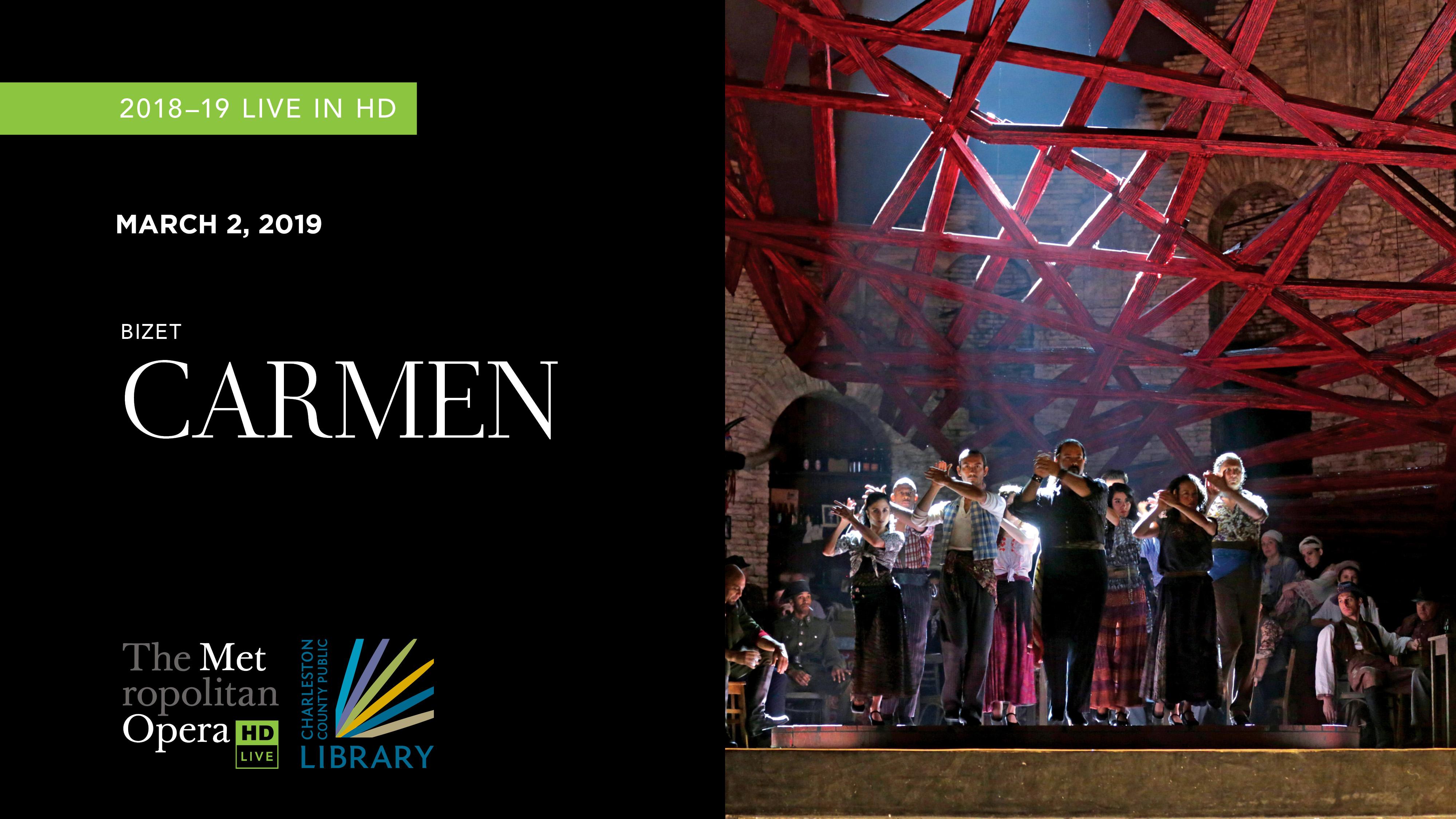 """MET Opera """"Carmen"""" 2018"""