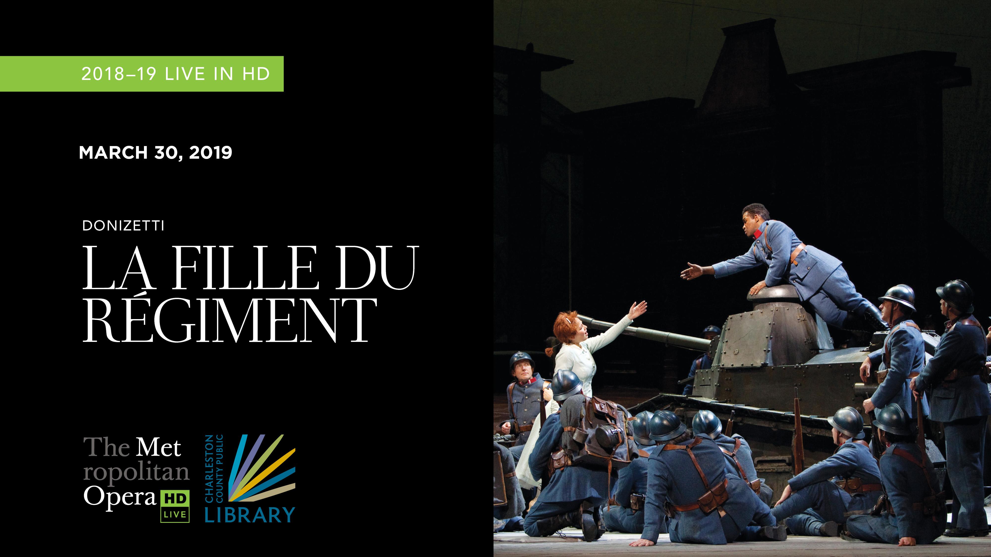 """MET Opera """"La Fille du Regiment"""" 2018"""