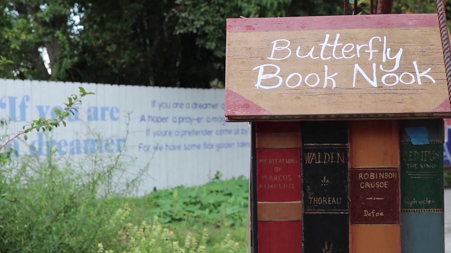 Butterfly Book Nook