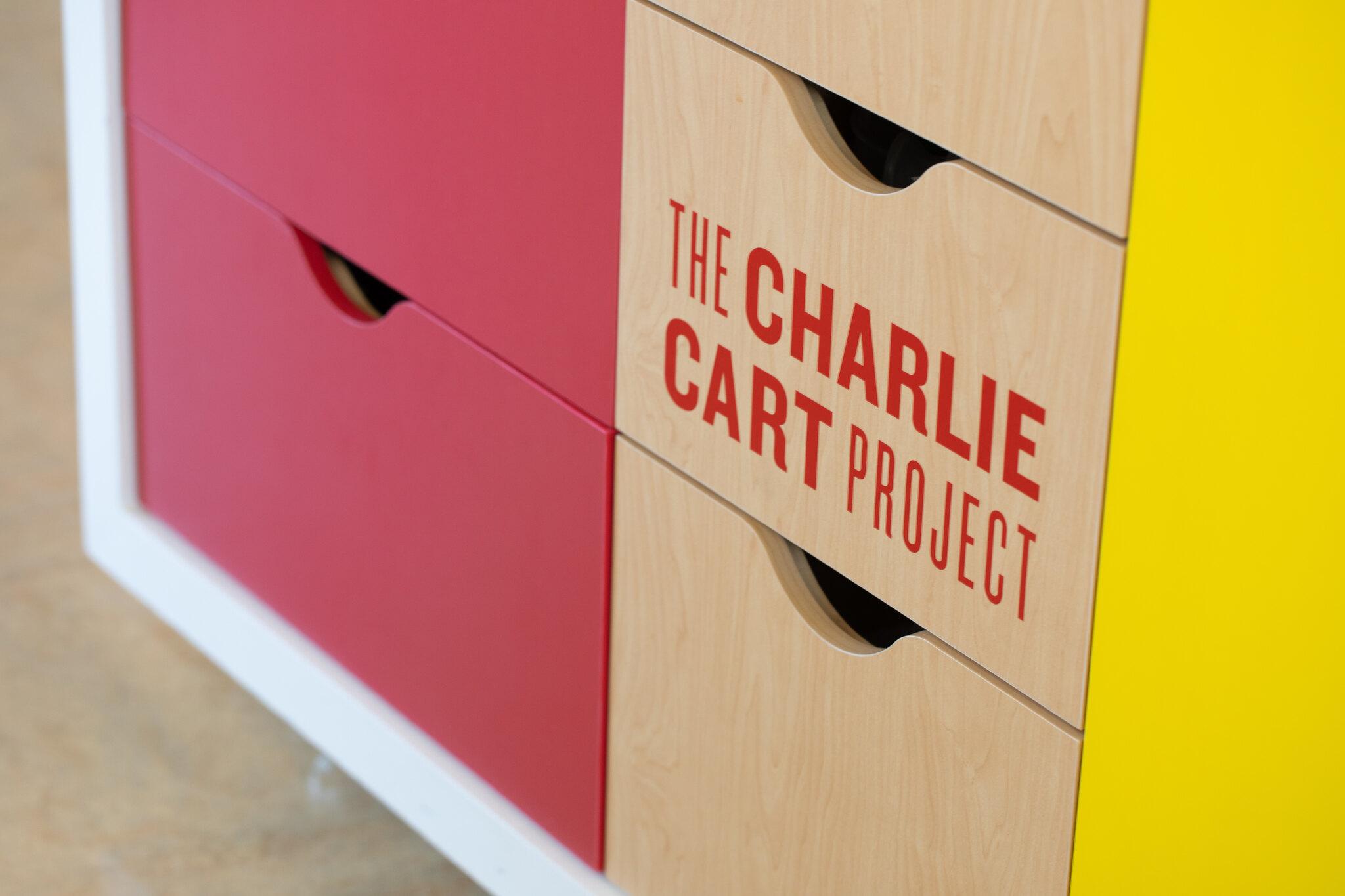 Charlie Cart close up