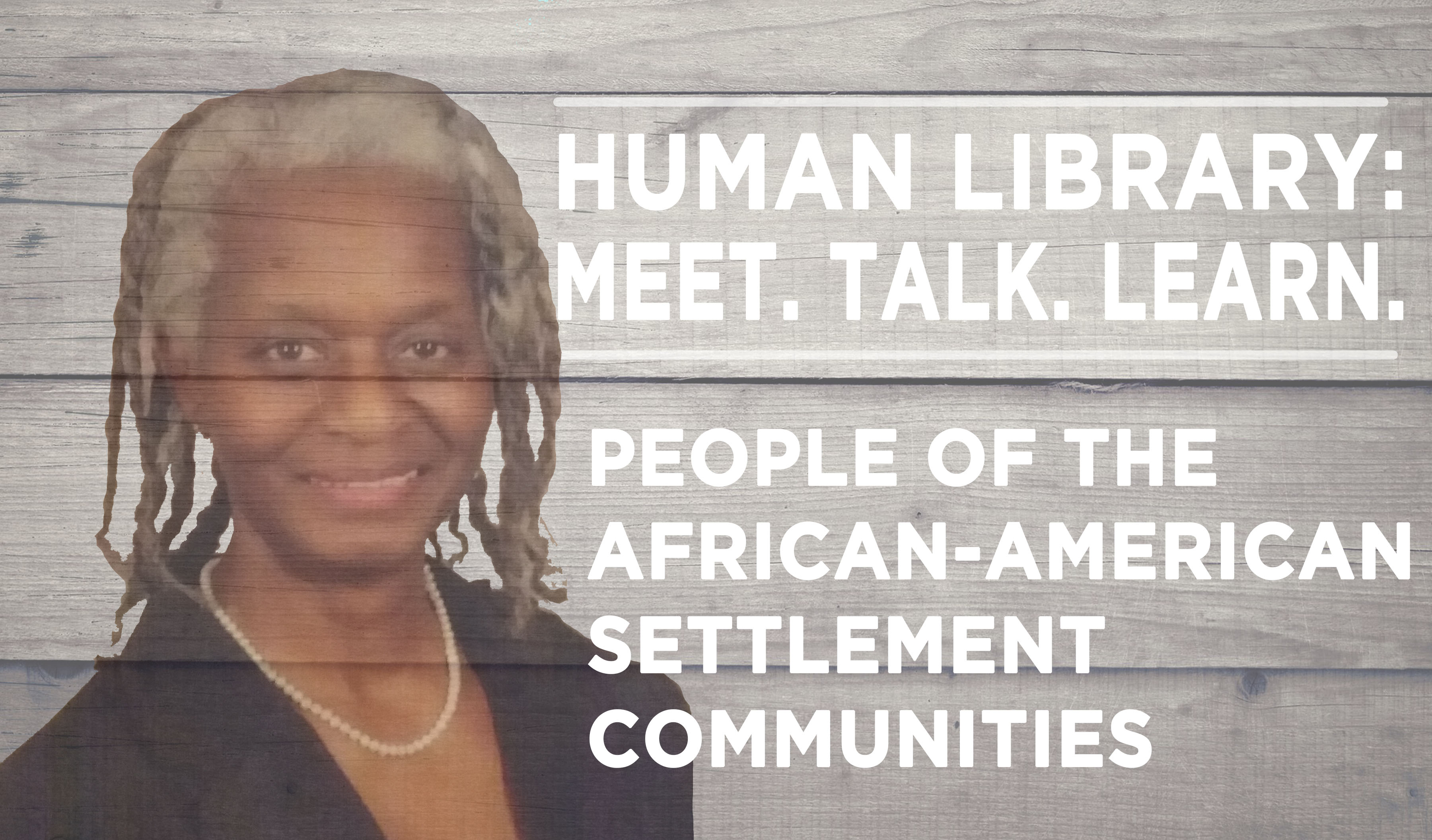 Human Library Logo - African Am Settlement Communities