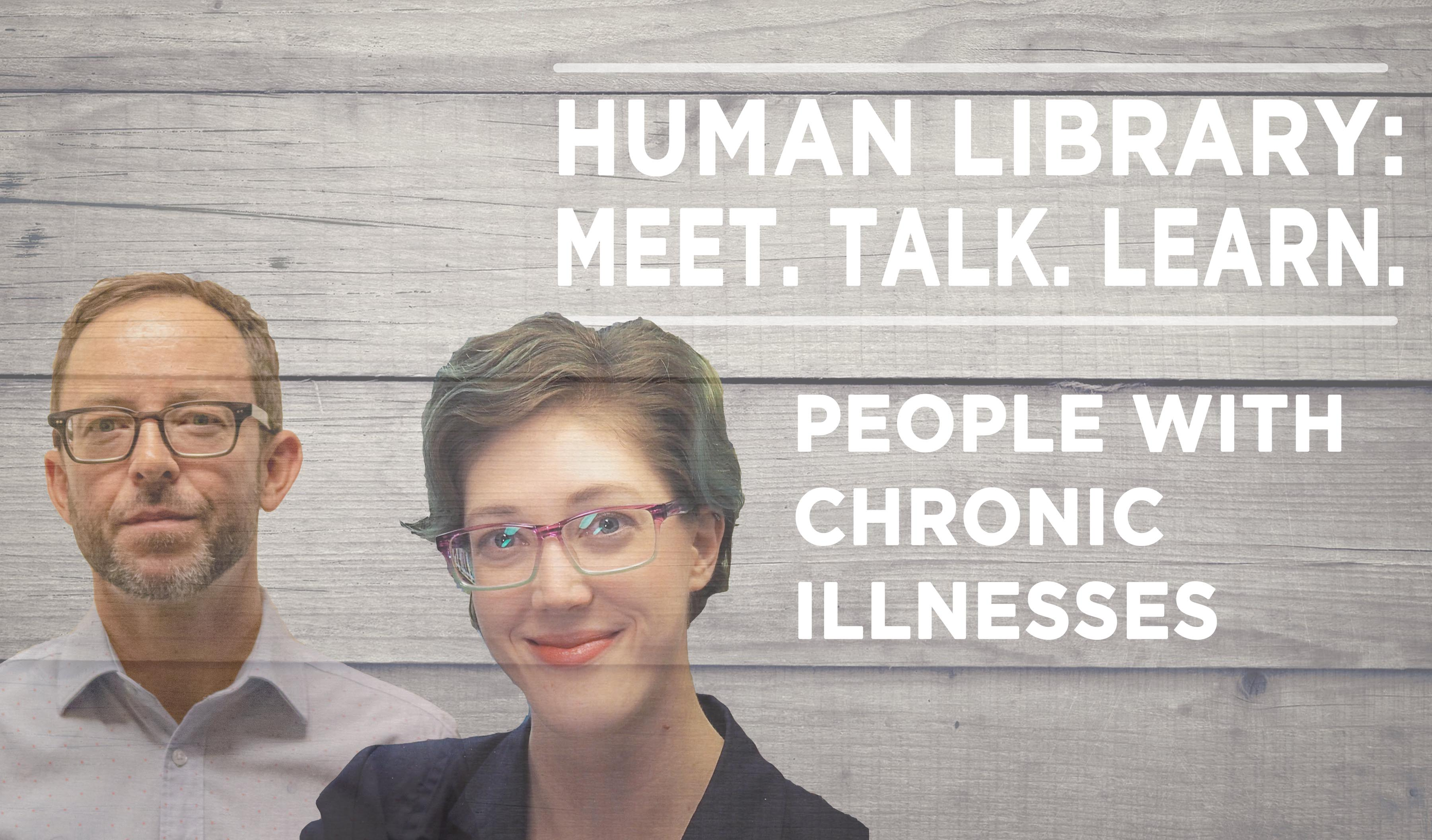 Human Library Logo2 - Chronic Illness