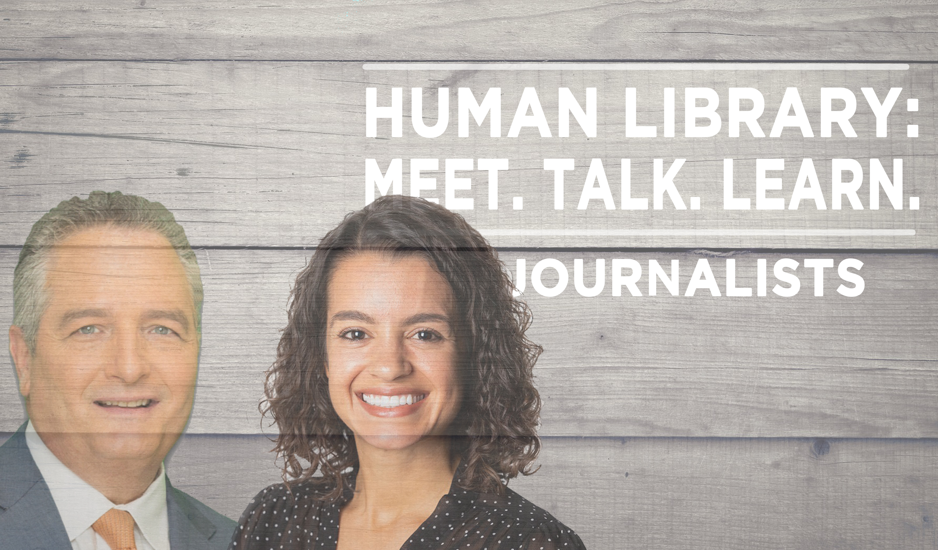 Human Library Logo2 - Journalists