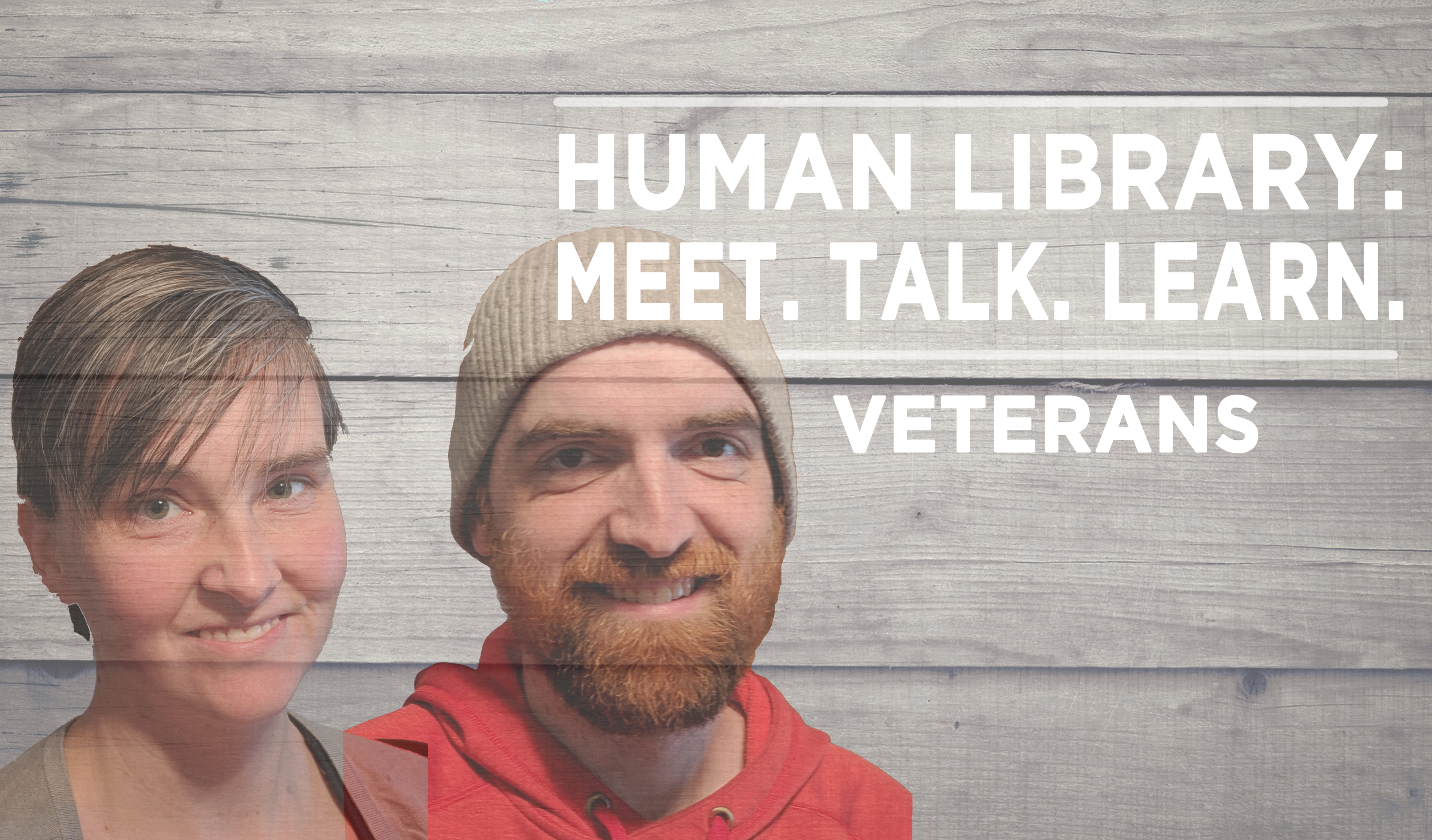 Human Library Logo2 - Veterans