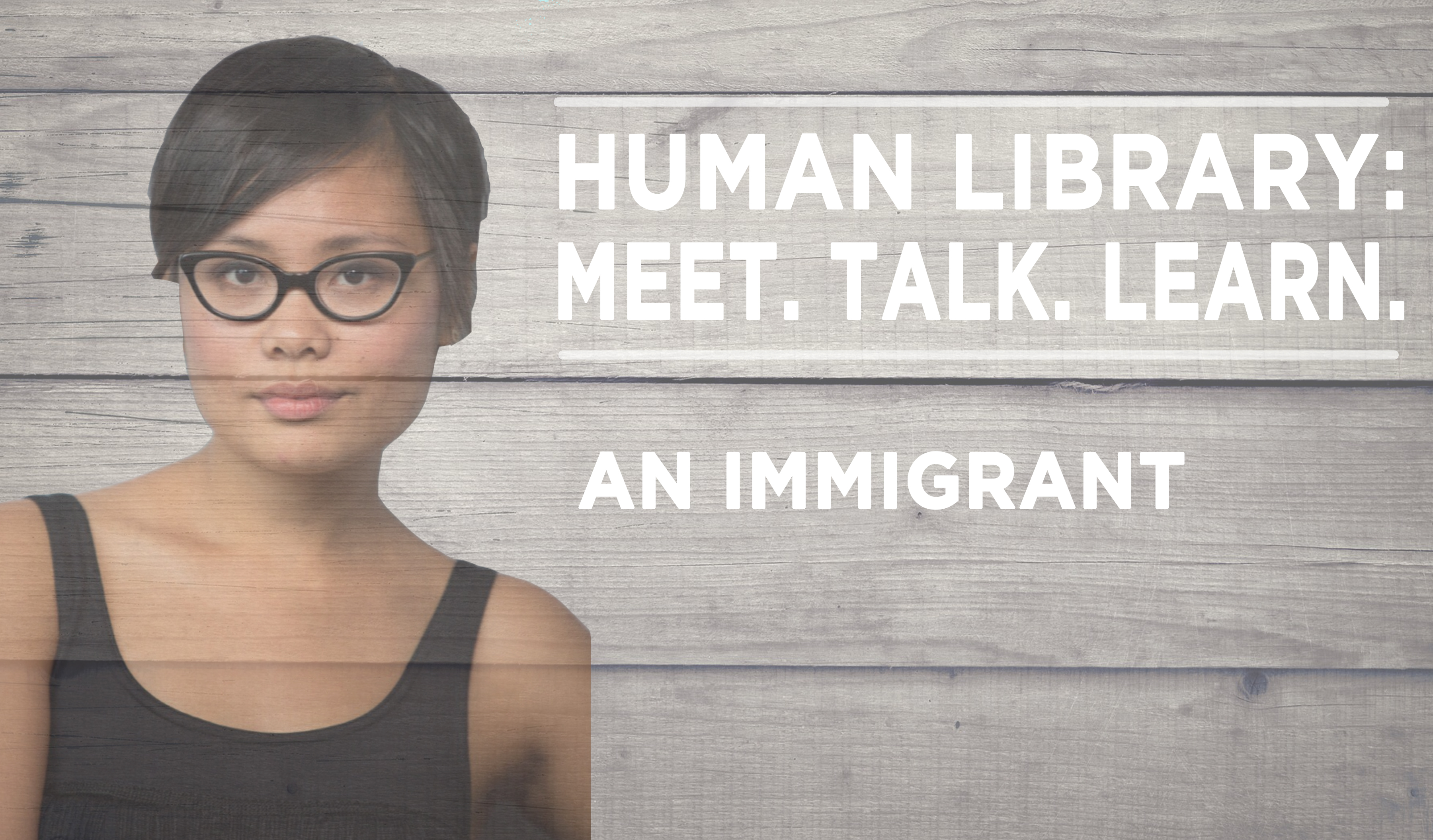 Human Library Logo - Immigrant