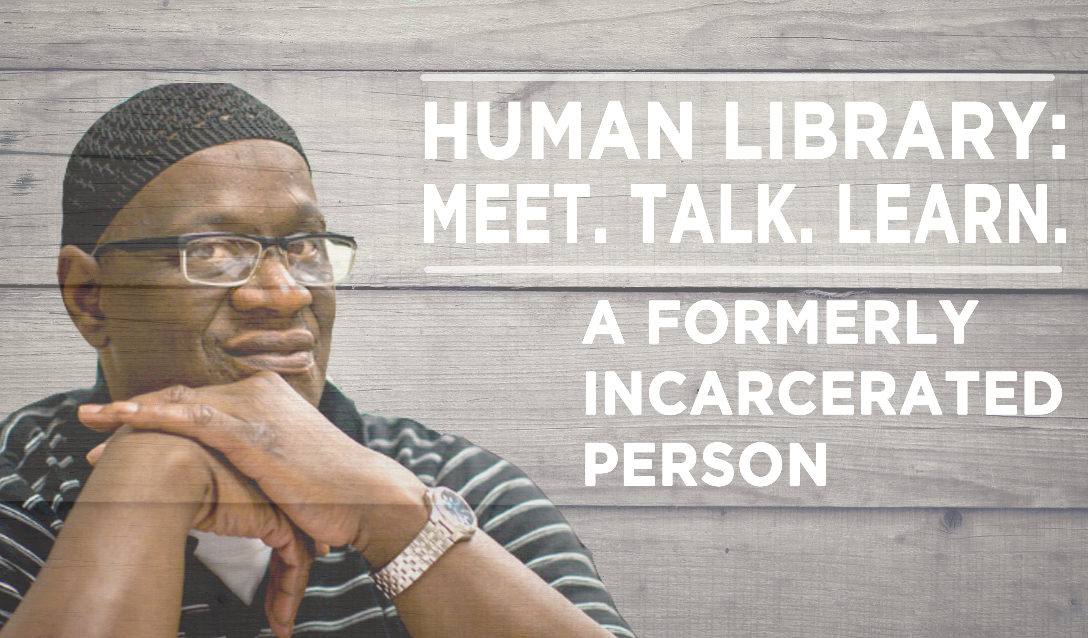 Human Library Logo2 - Incarcerated Person