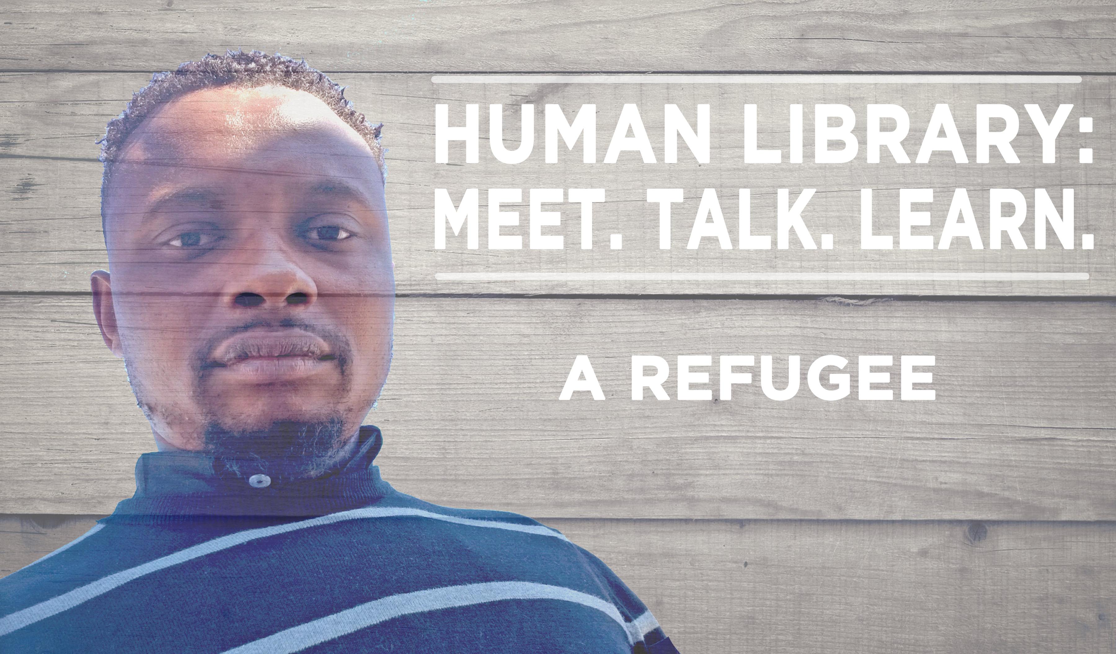 Human Library Logo2 - Refugee