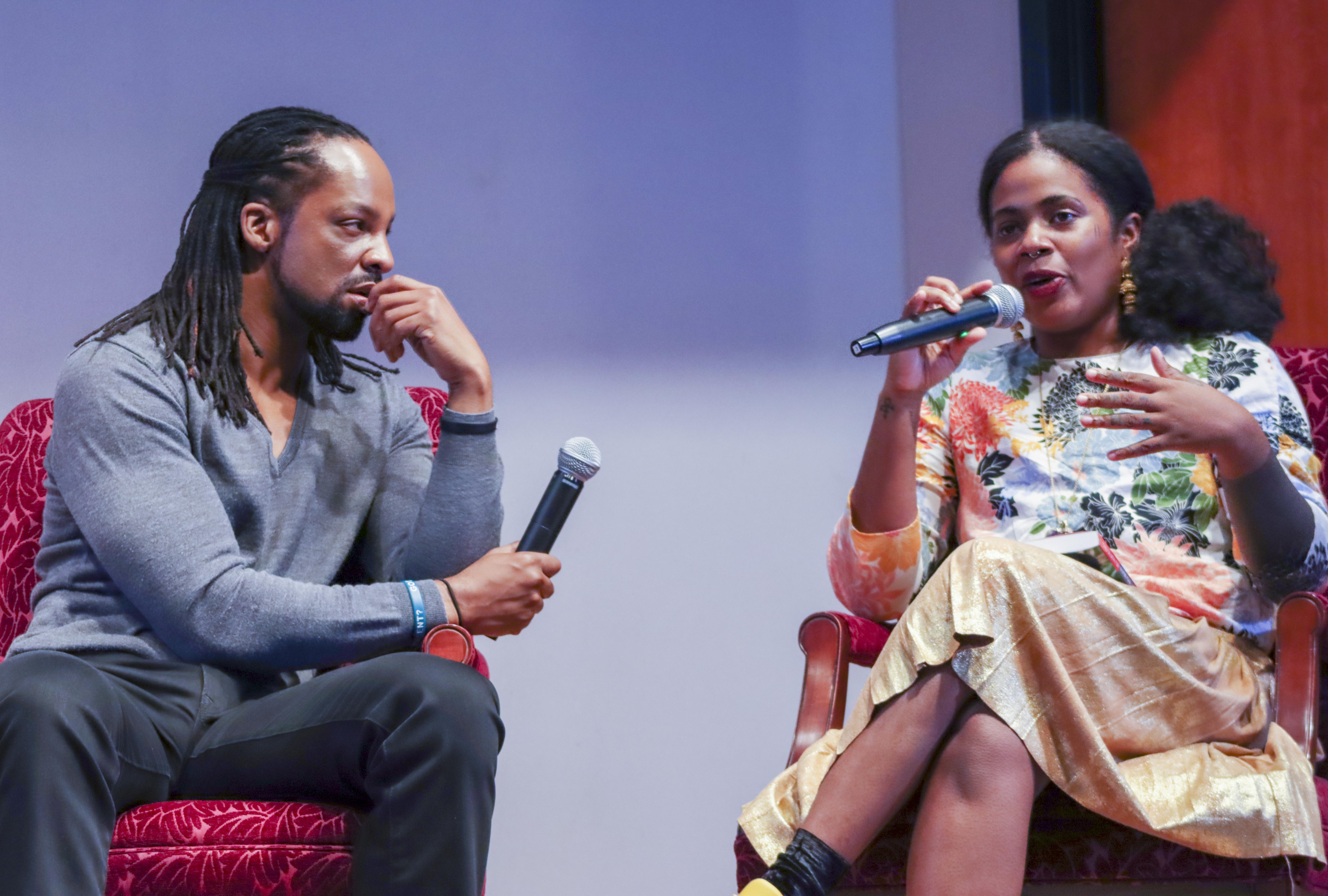 NBF Presents Jericho Brown and Akwaeke Emezi