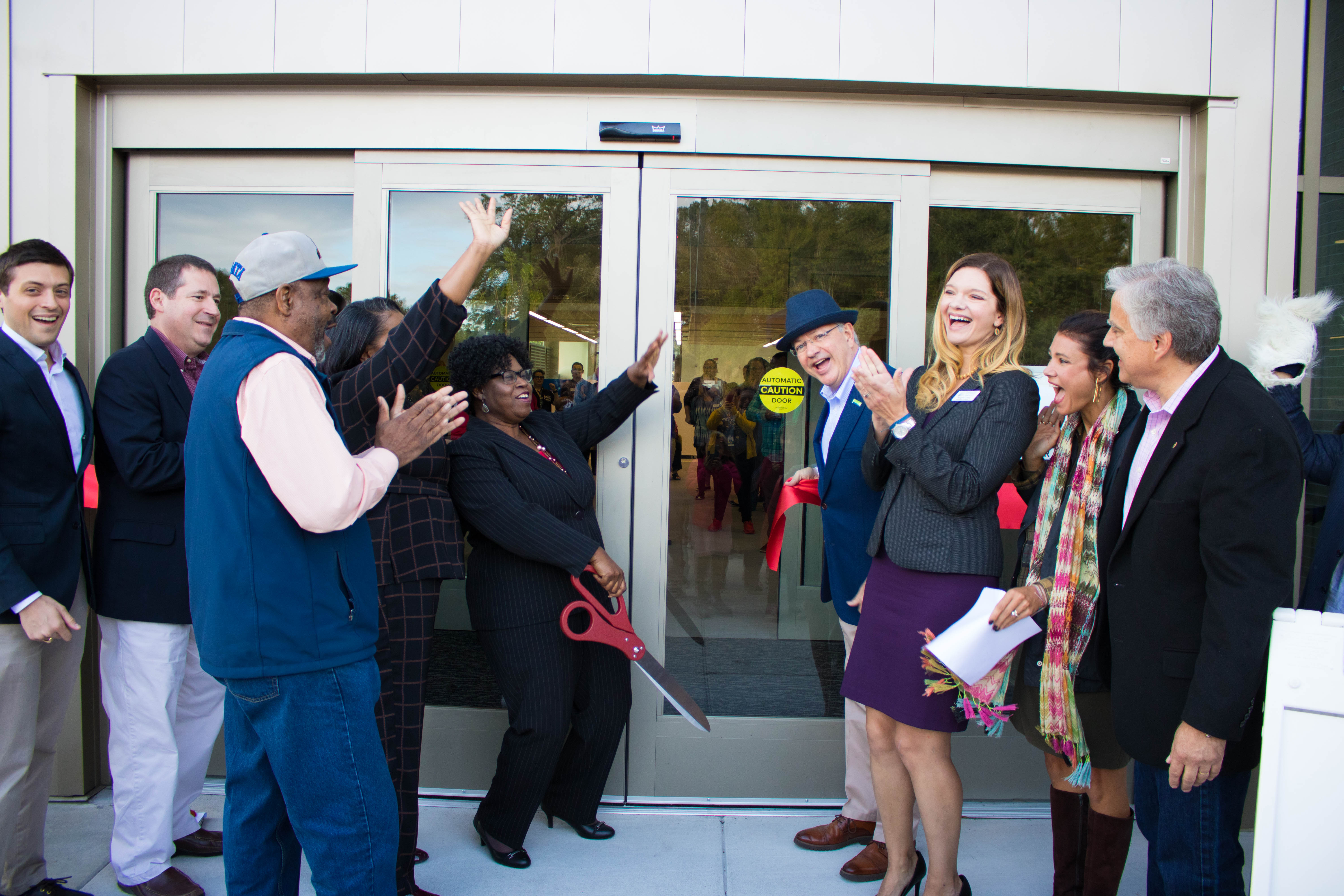 Baxter-Patrick James Island Library opens door to public