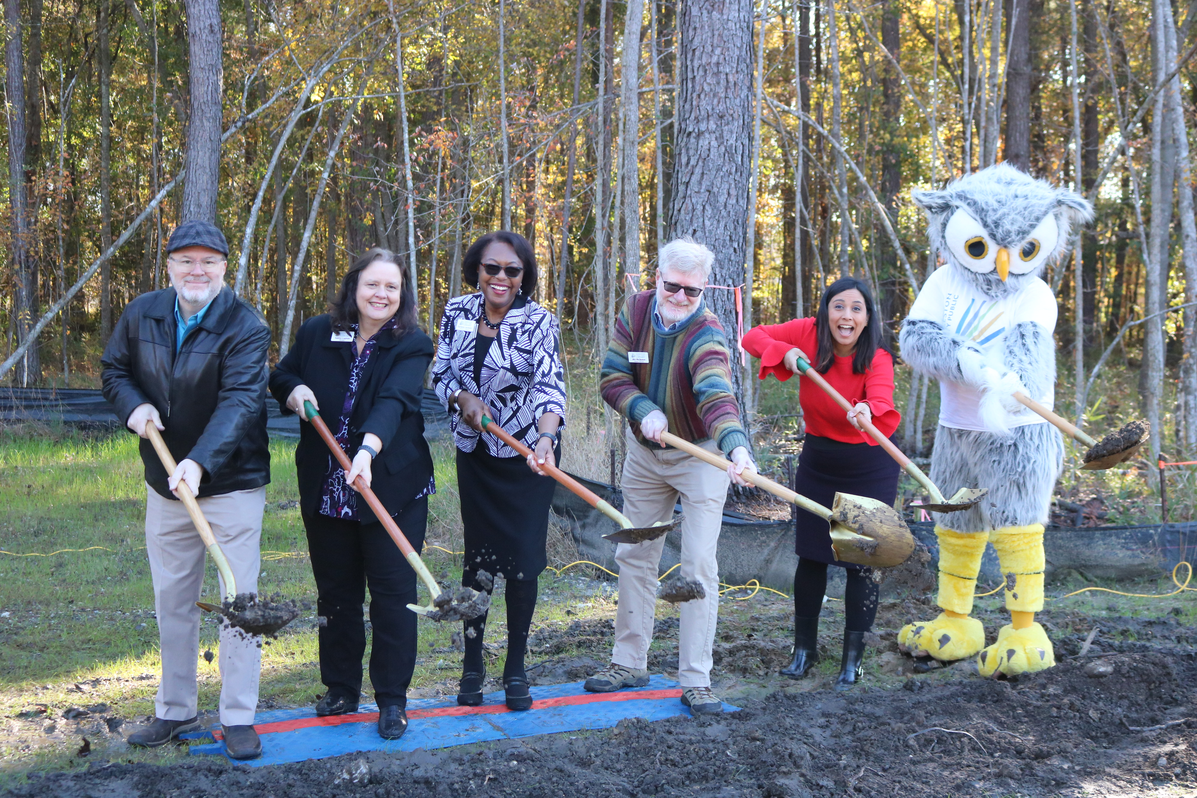 Groundbreaking Bees Ferry West Ashley Library