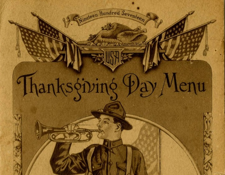 Home away from home during war: See a WWI menu  in South Carolina