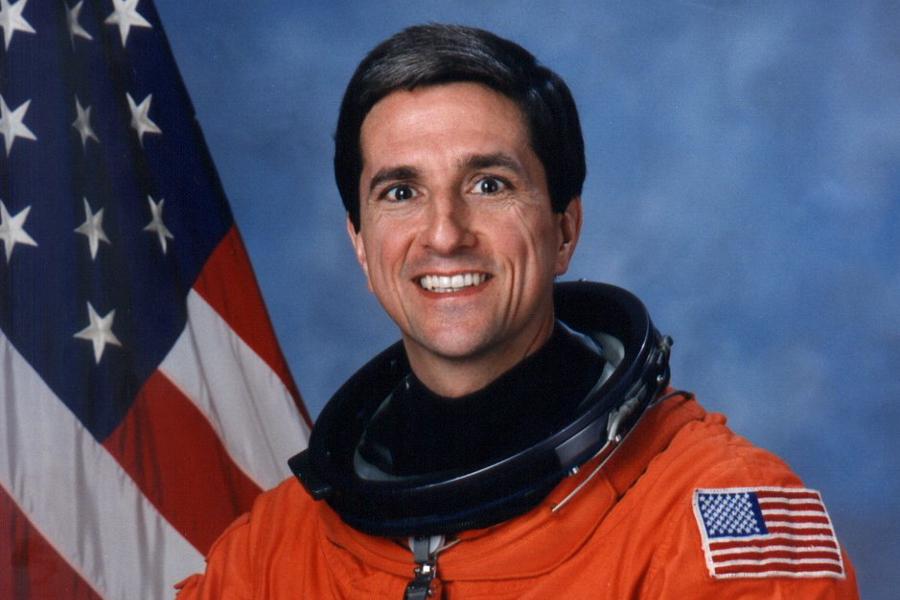 NASA astronaut Don Thomas