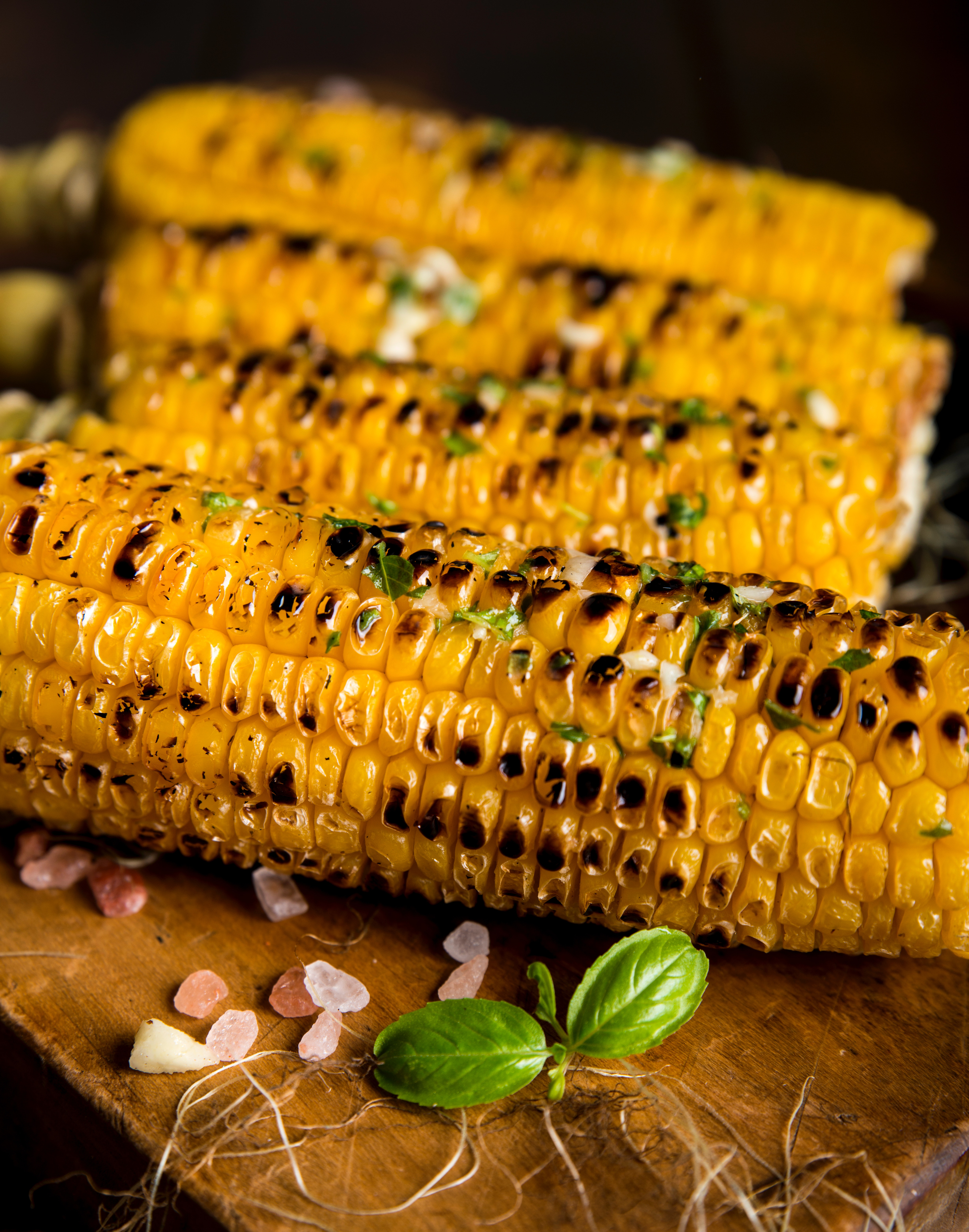 Corn on the cob Charlie Cart mobile kitchen