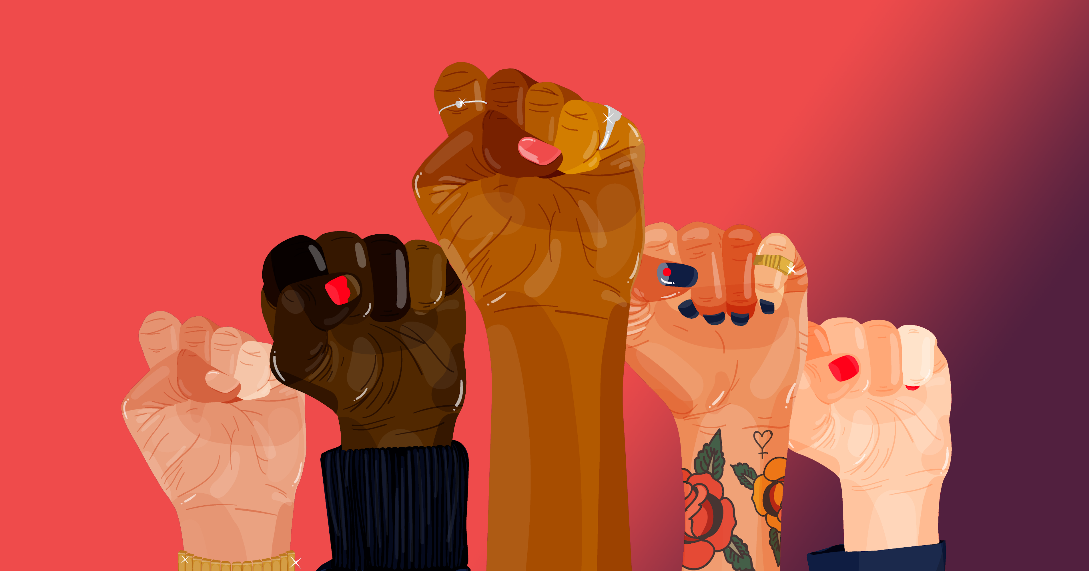 Women's Histoy Month - Empowerment fists
