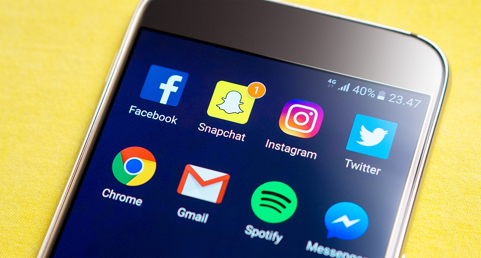 Instagram and Snapchat - social media Tech Team