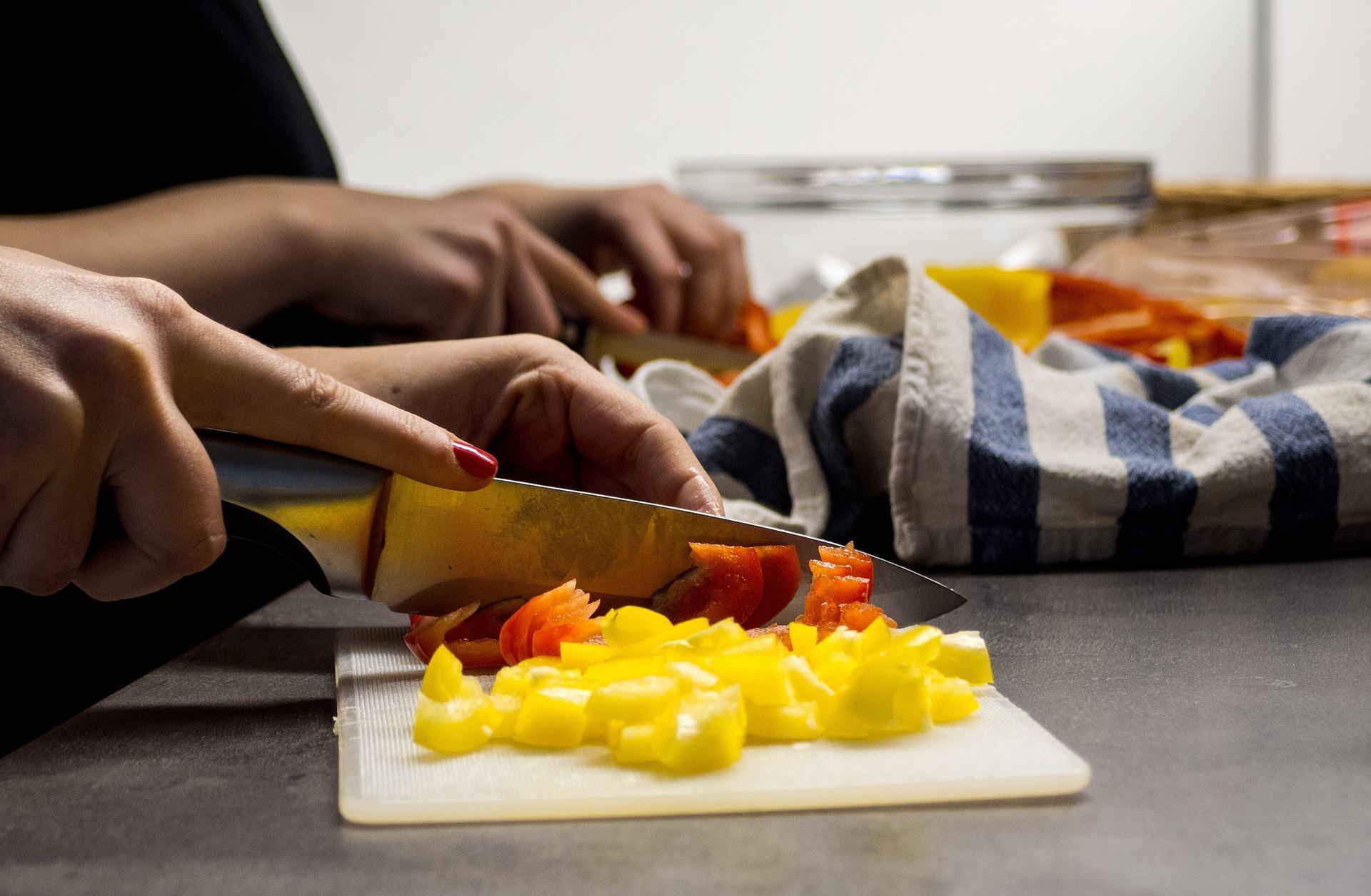 Charlie Cart Chop Vegetables