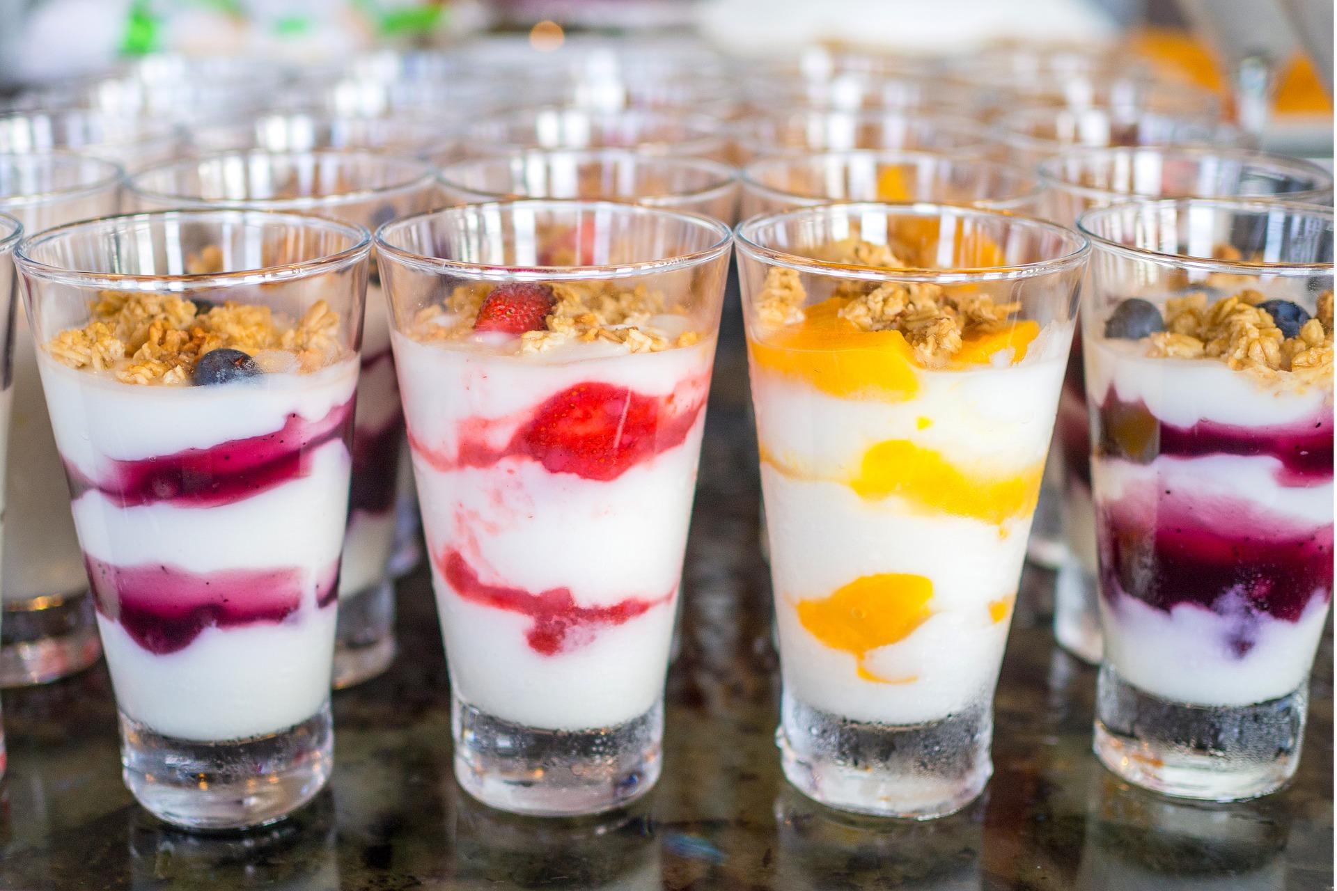 Berry parfait Charlie Cart mobile kitchen