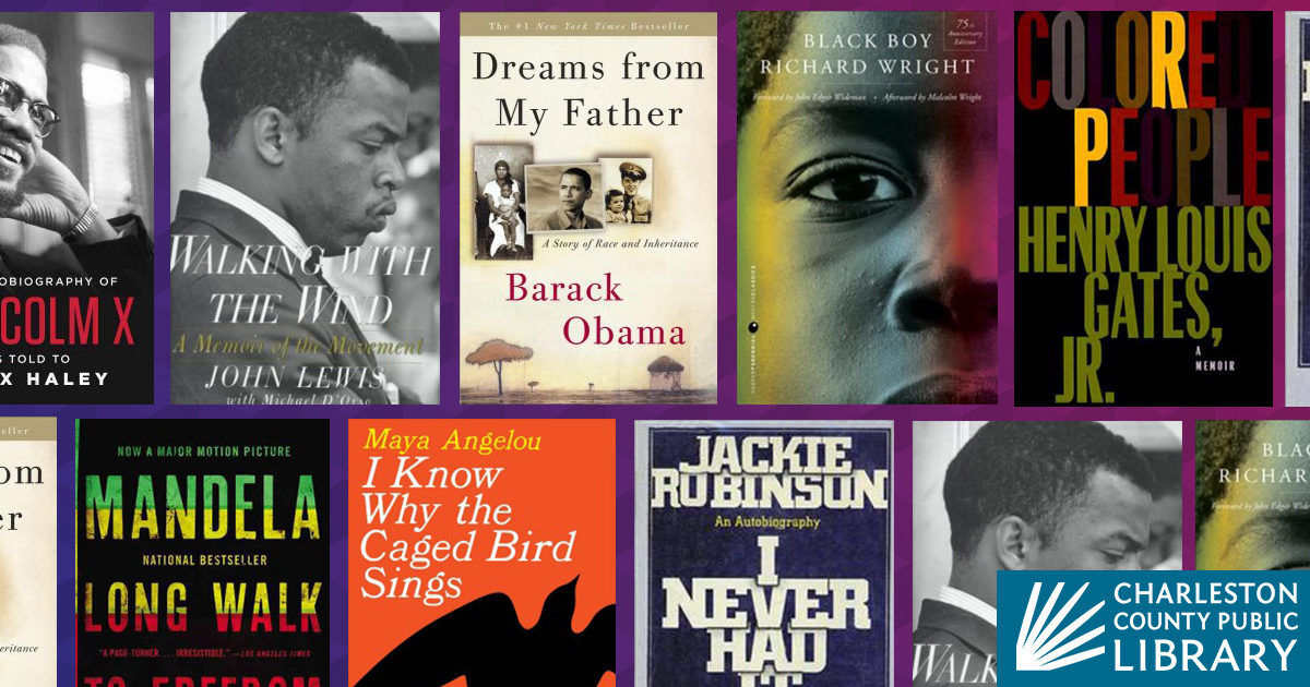 Great autobiographies for Black History Month