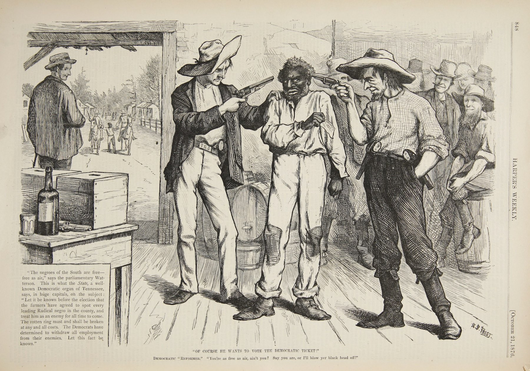The Rise of Voter Suppression in South Carolina, 1865–1896