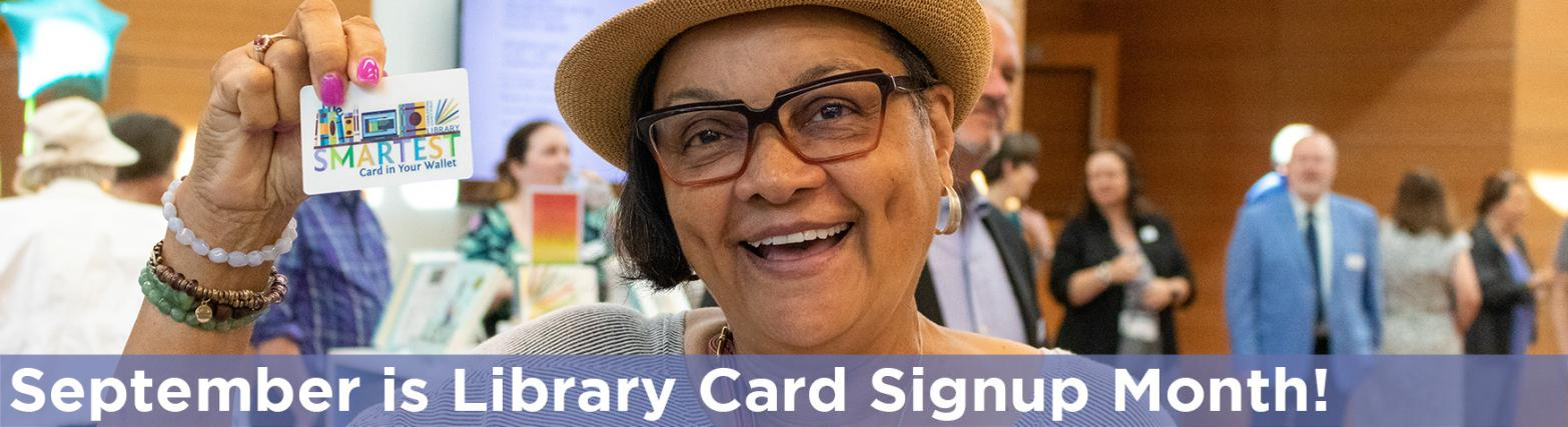 Header Images - Library Card Adult