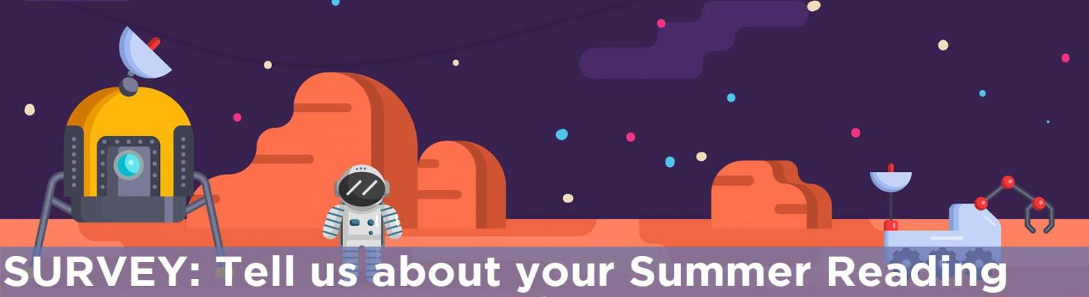 Header Images - Summer Reading Survey 2019